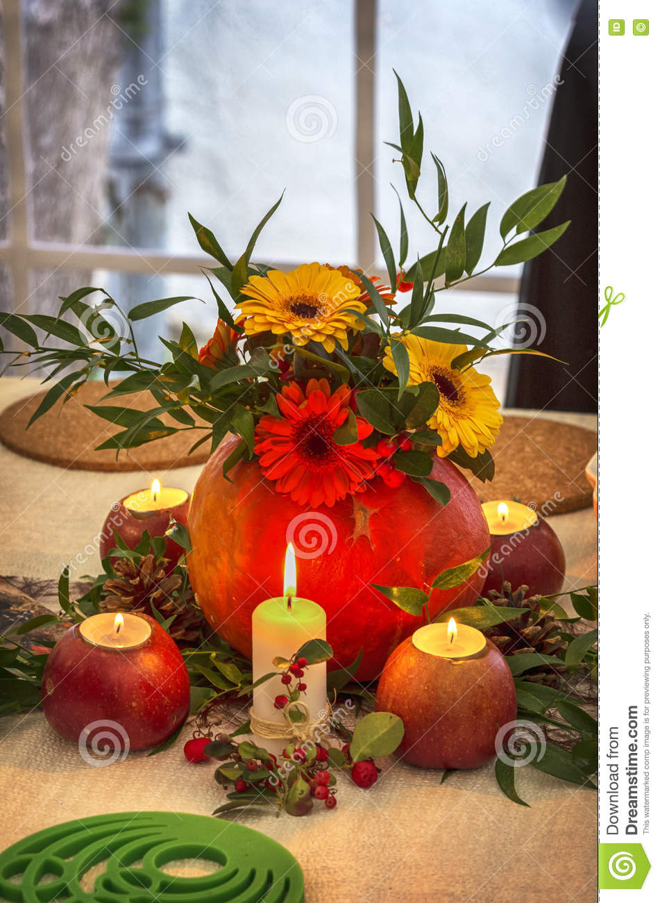 Dinner Party Table Setting Decorations Stock Photo Image Of Decor Rustic 81319408