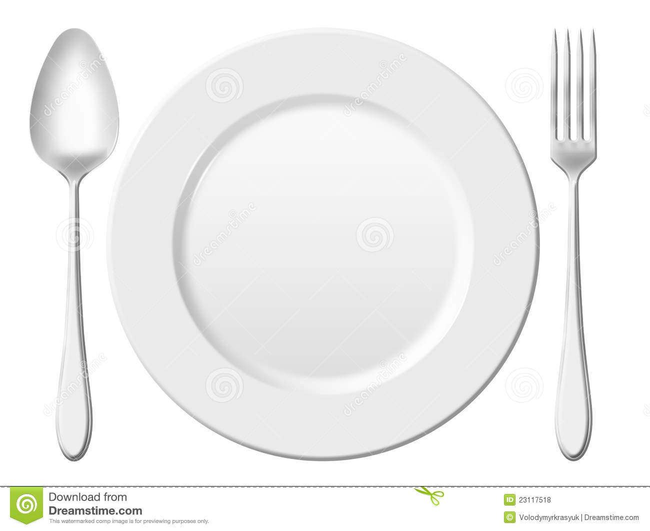 Dinner Setting set of place setting formal dinner stock vector - image: 40959595