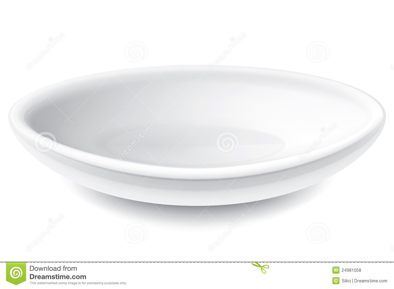 Dinner Plate Set 4 Royalty Free Stock Photos Image 24981058