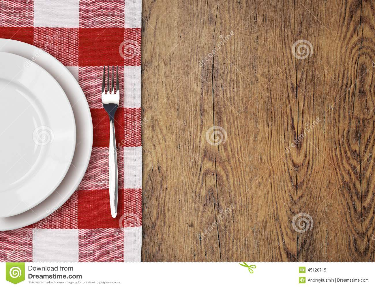 Dinner table top view - Dinner Plate Setting Table Top View