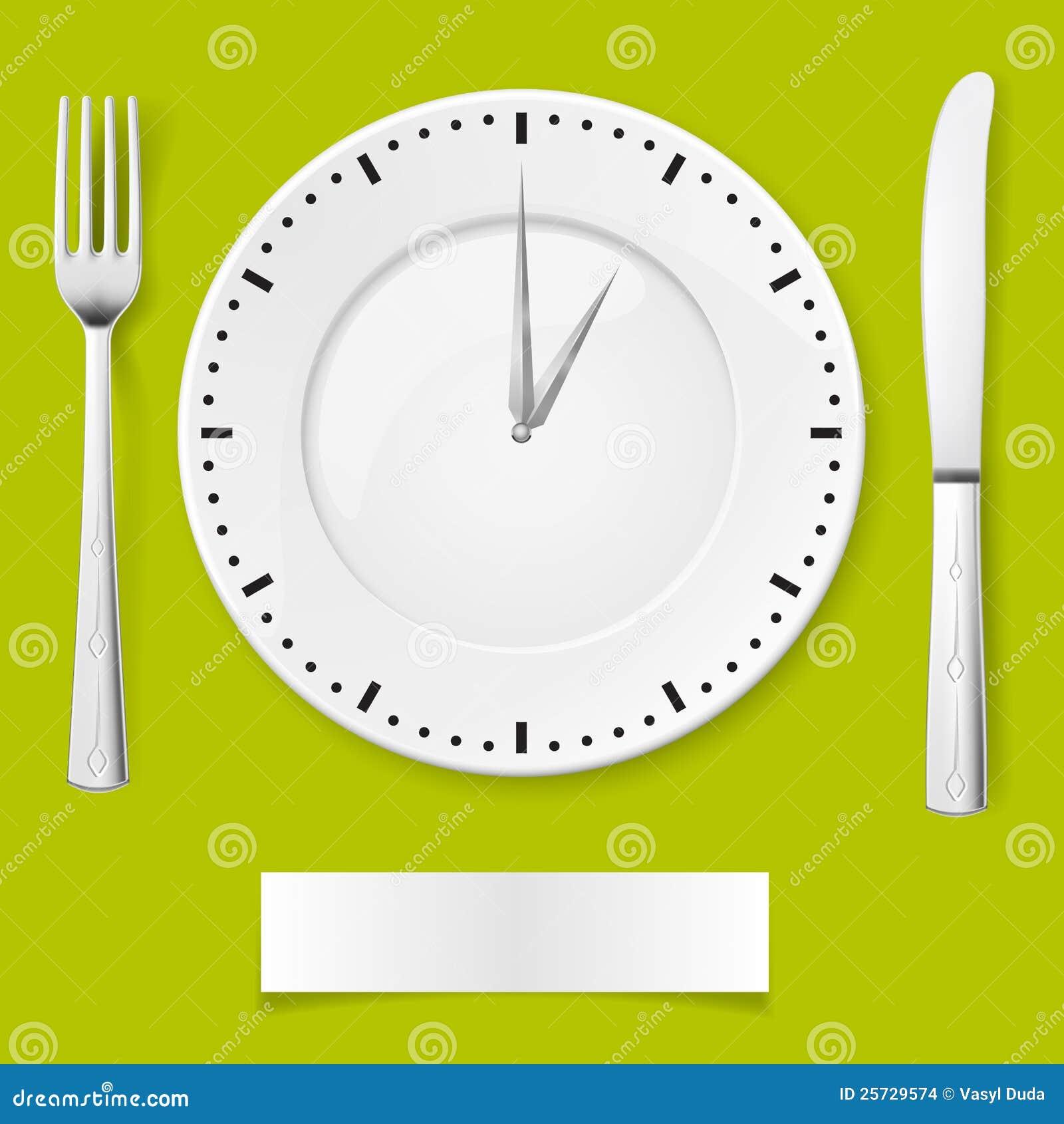 dinner time stock vector image of cuisine idea fork 25729574. Black Bedroom Furniture Sets. Home Design Ideas