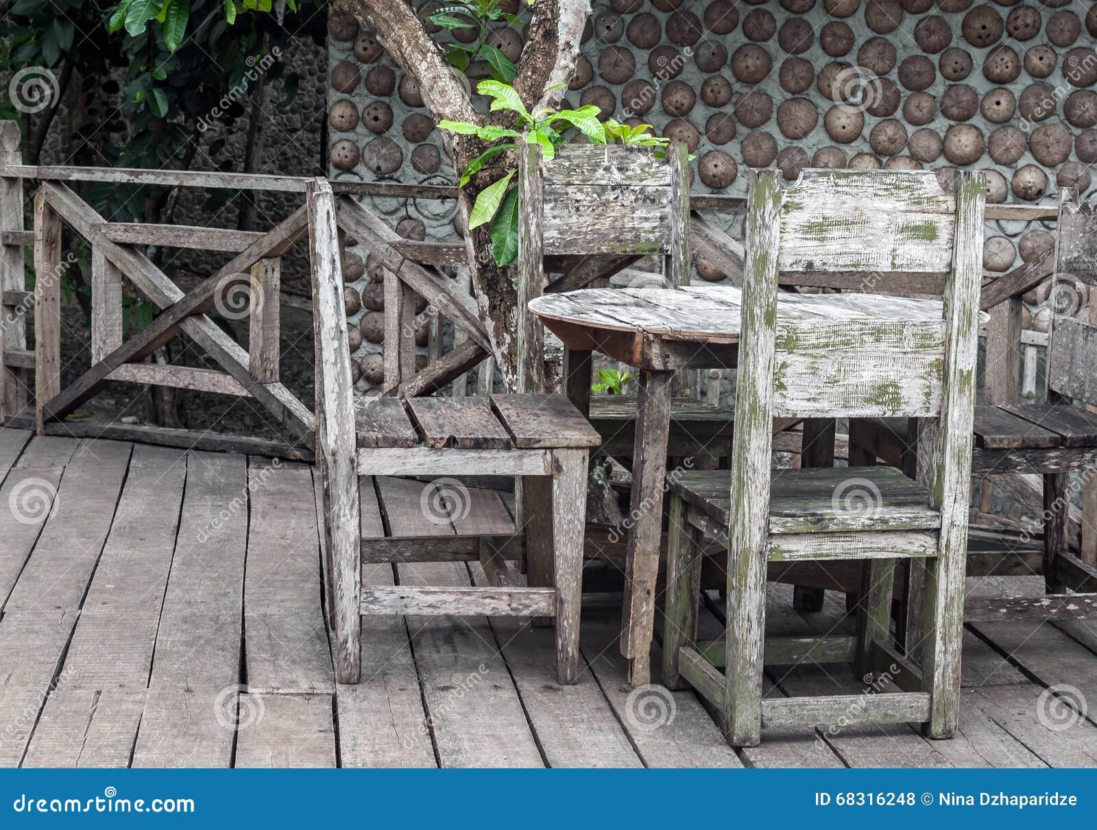 Dinning Tabelle des Gartens