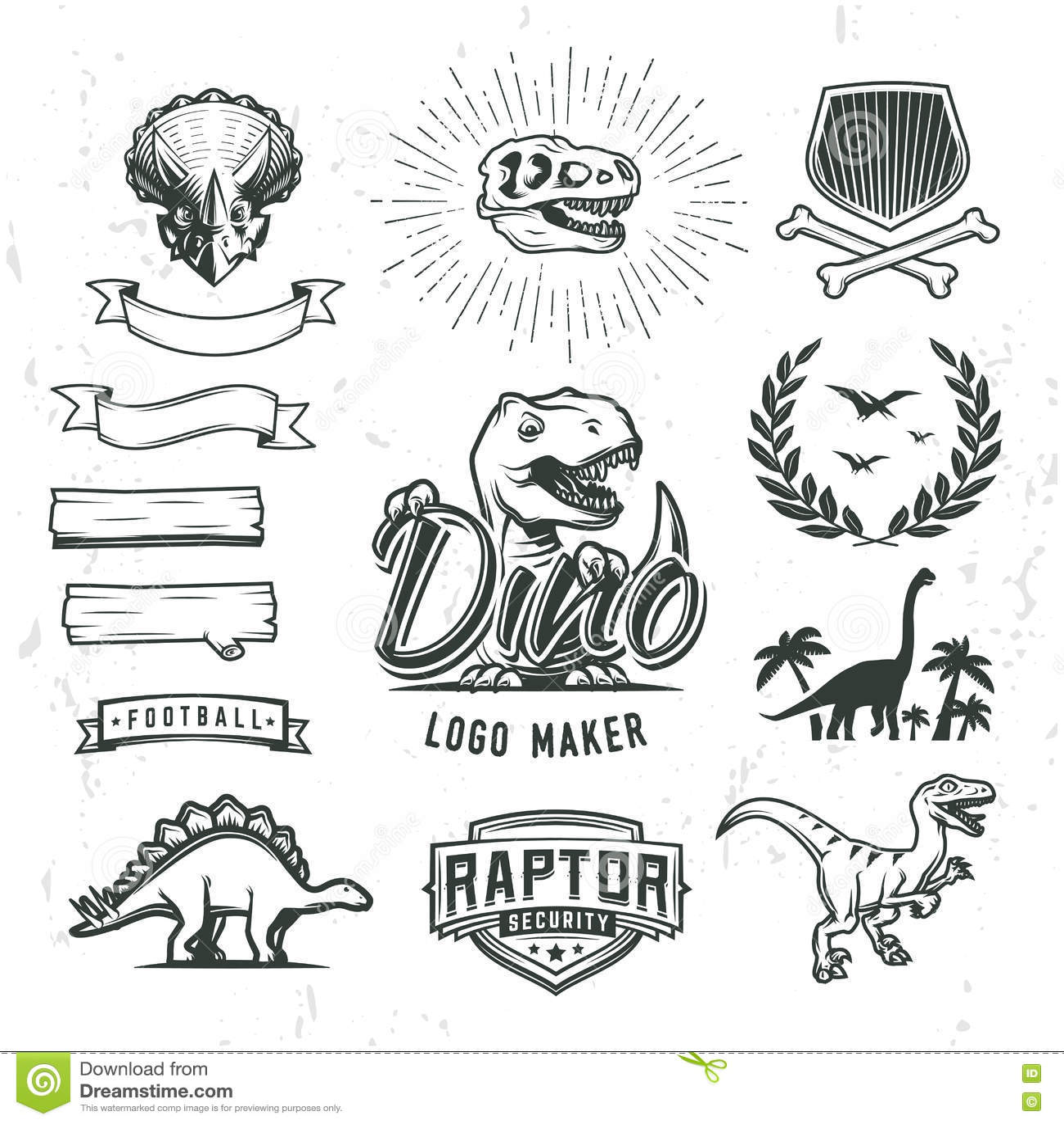 Printable t-rex head template.