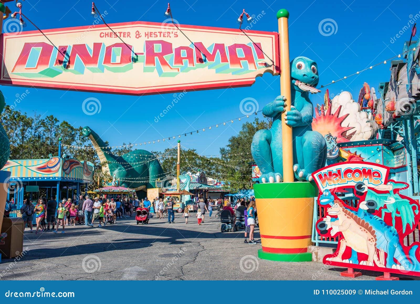 DinoLandu S A bij het Dierenrijk in Walt Disney World