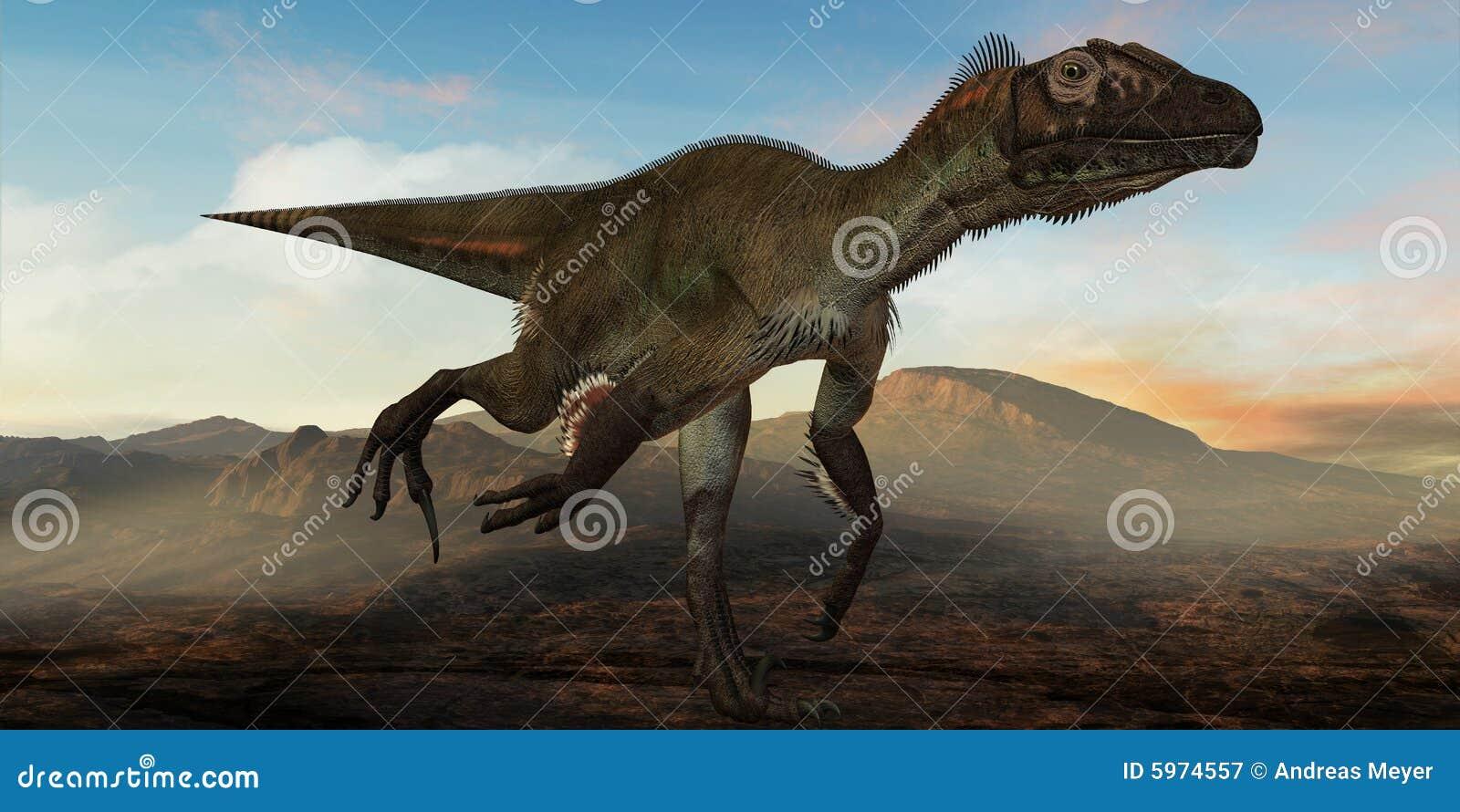 Dinosaur d Utahraptor ostrommayorum-3D