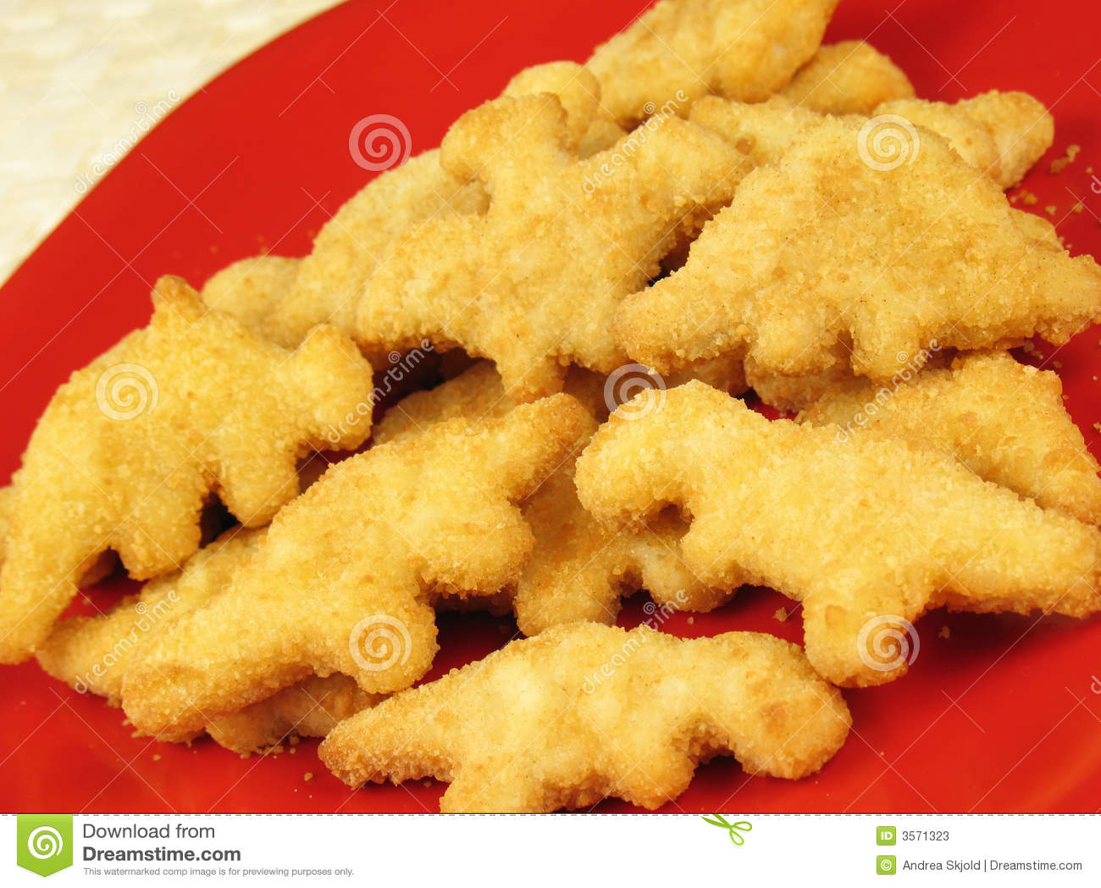 Dinosaur Nuggets 2 stock image. Image of nugget, patty ...