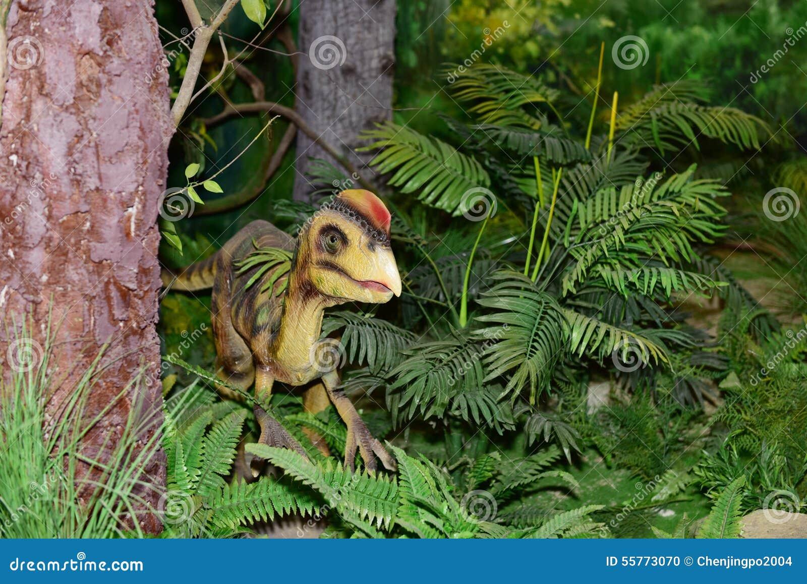 Dinosaur rzeźba