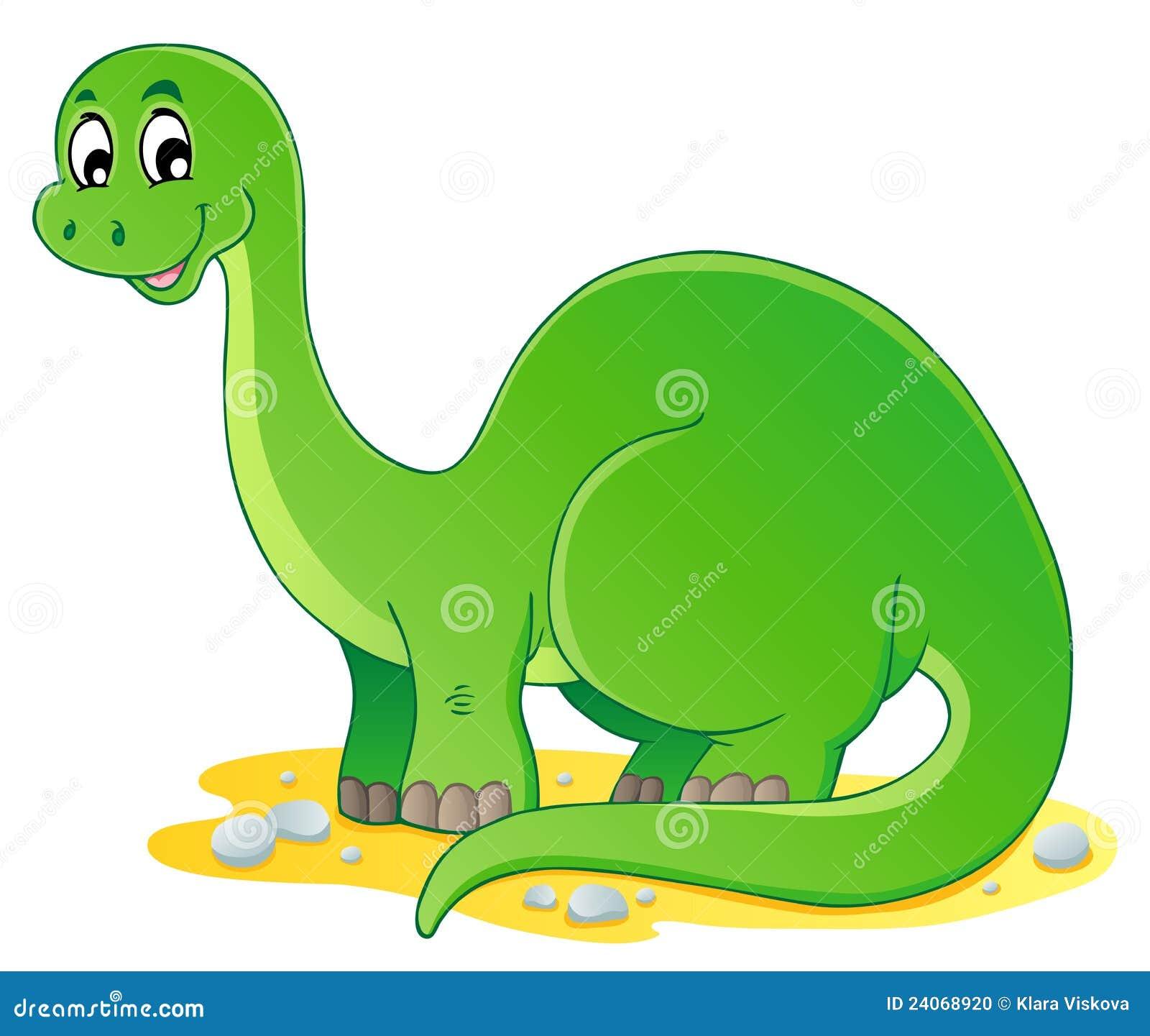 Dinosaur theme image 1 stock vector. Illustration of ...