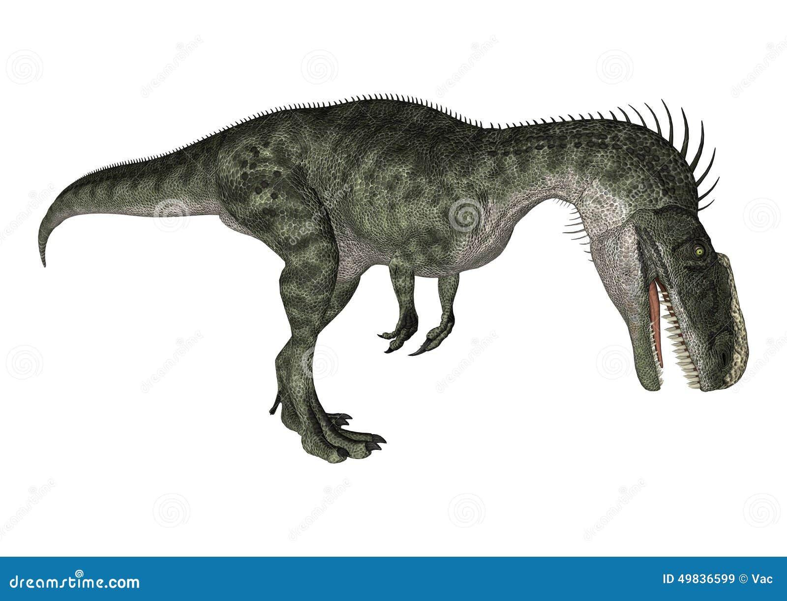 Dinosaura Monolophosaurus
