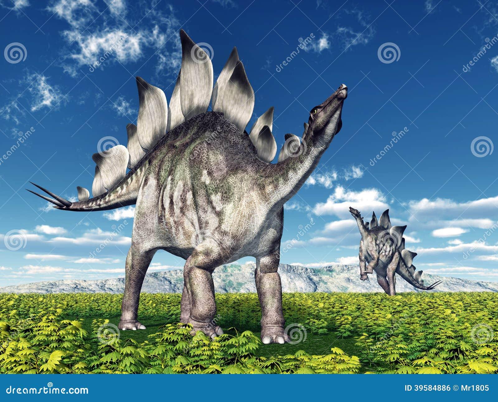 Dinosaura stegozaur