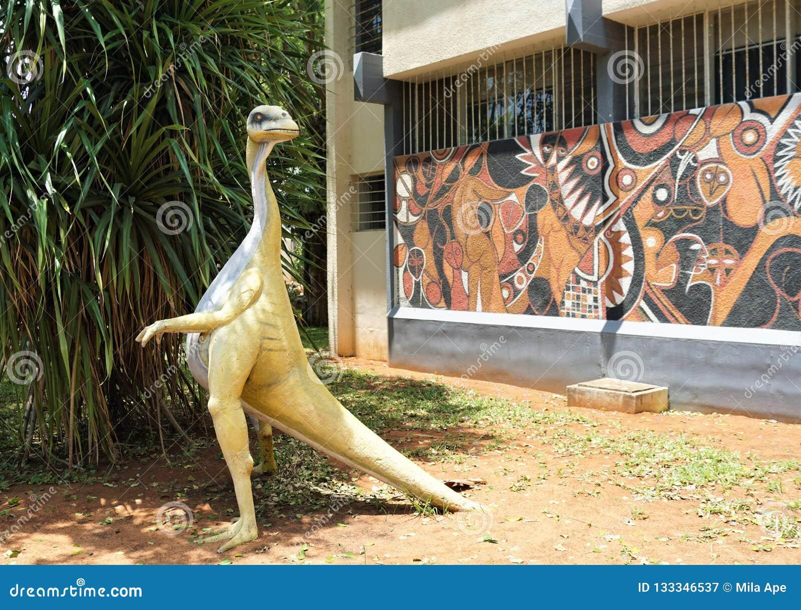 Dinosaure en Afrique