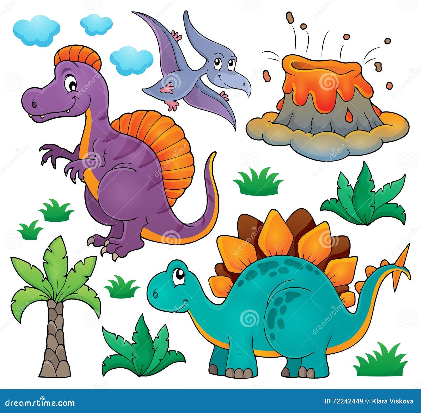 Dinosaurieämneuppsättning 2