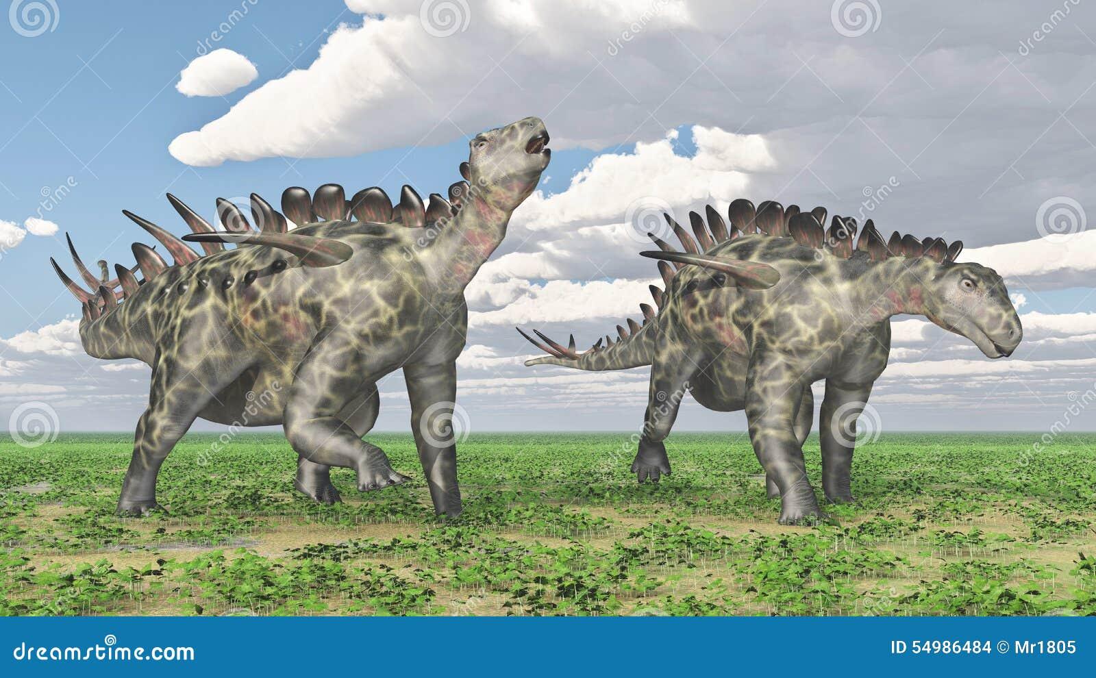 Dinosaurie Huayangosaurus