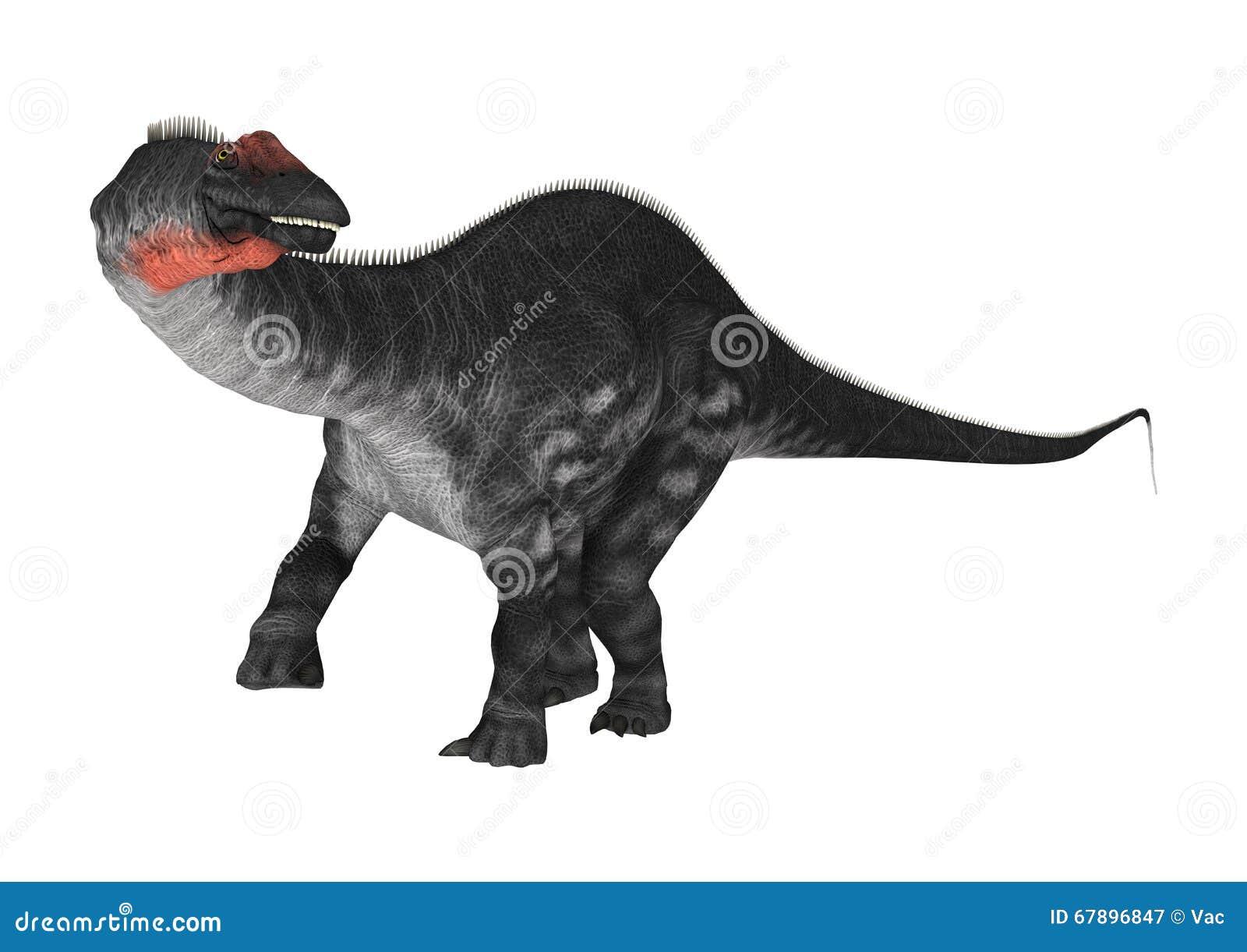 DinosaurieApatosaurus på vit