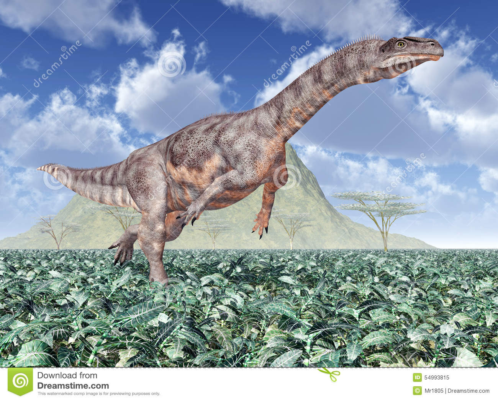 DinosauriePlateosaurus