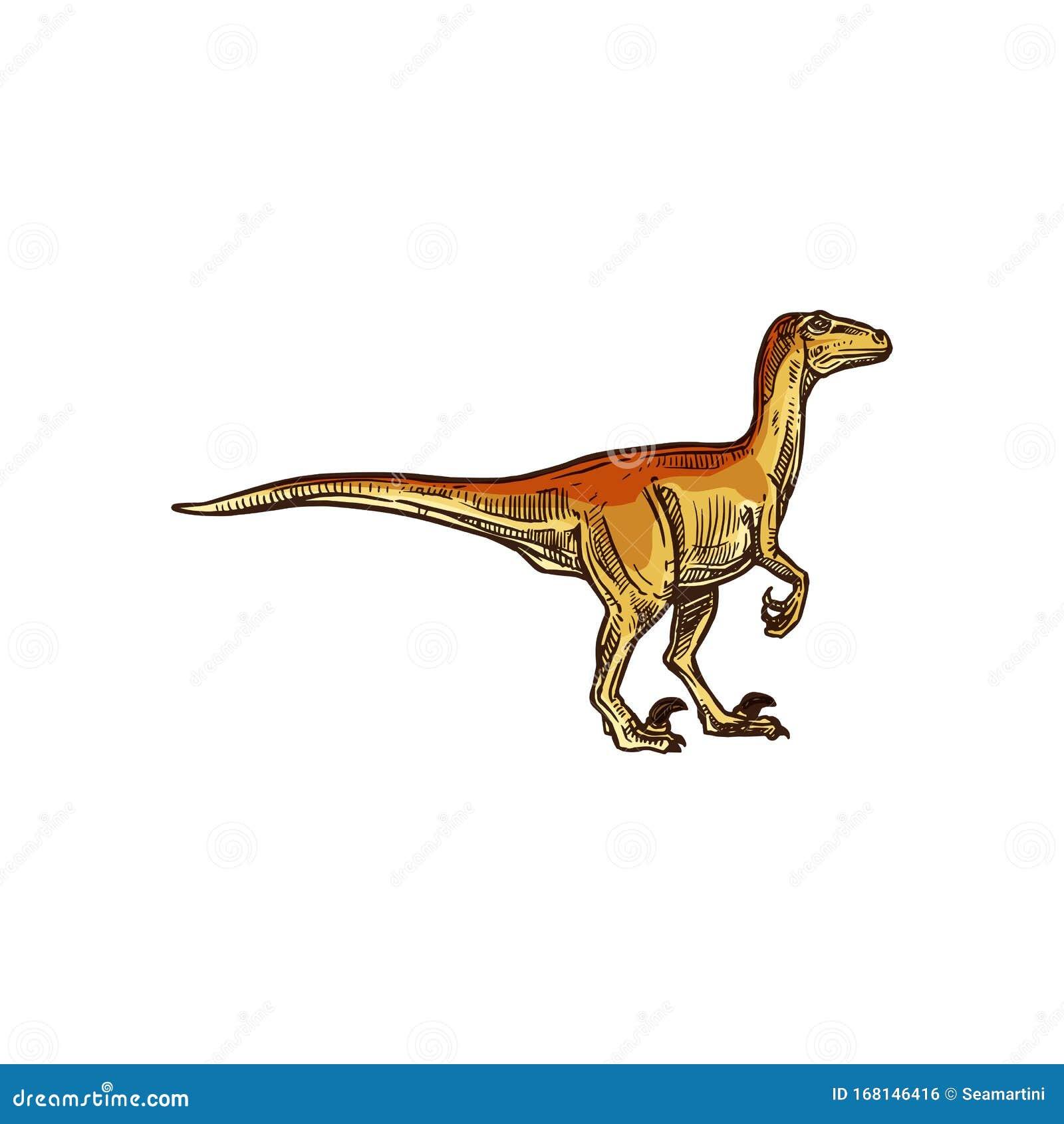 dinosaurier tyrannosaurus oder trex isoliertes tier