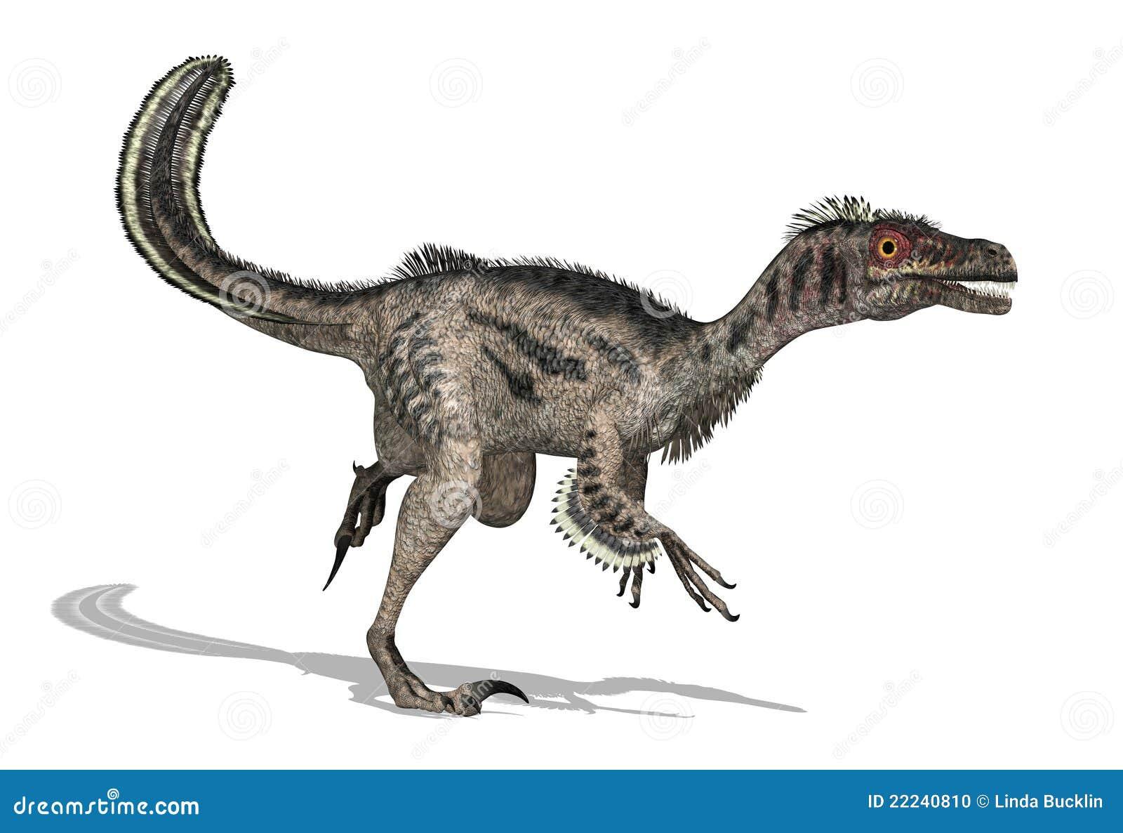 Dinosaurio del Velociraptor