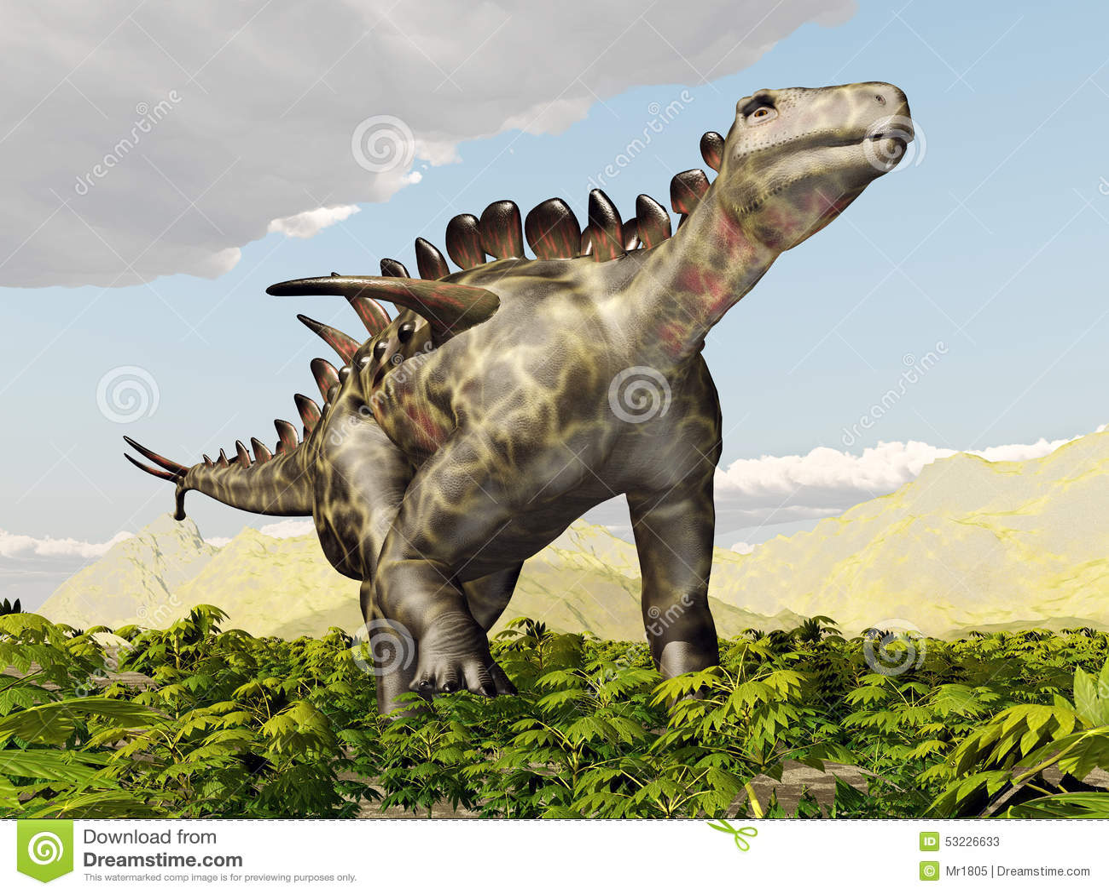 Dinosaurio Huayangosaurus