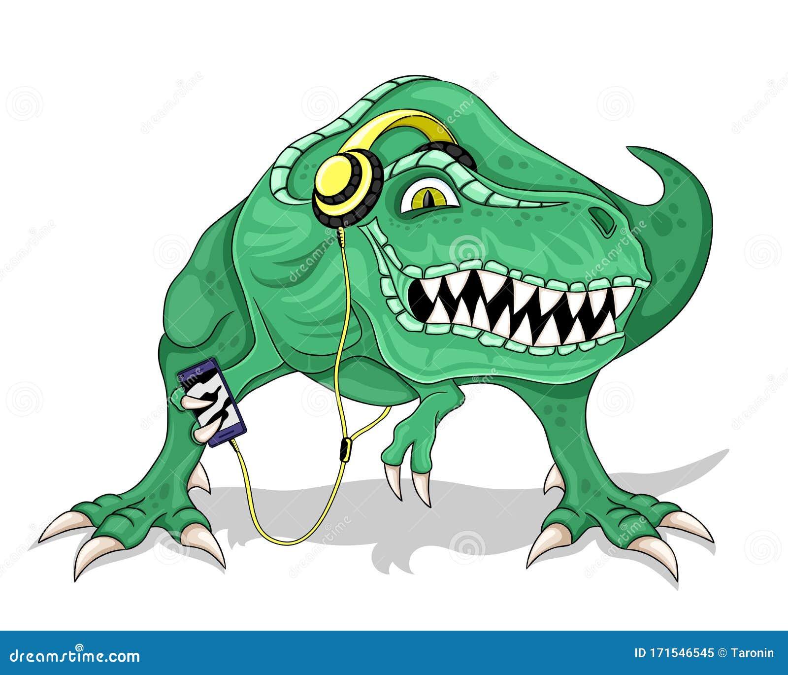 Dinosaurio Verde En Audifonos Ilustracion Del Vector Ilustracion De Dinosaurio Audifonos 171546545 Www.dinosaurios.tienda1 / dinosaurios de juguete. dinosaurio verde en audifonos