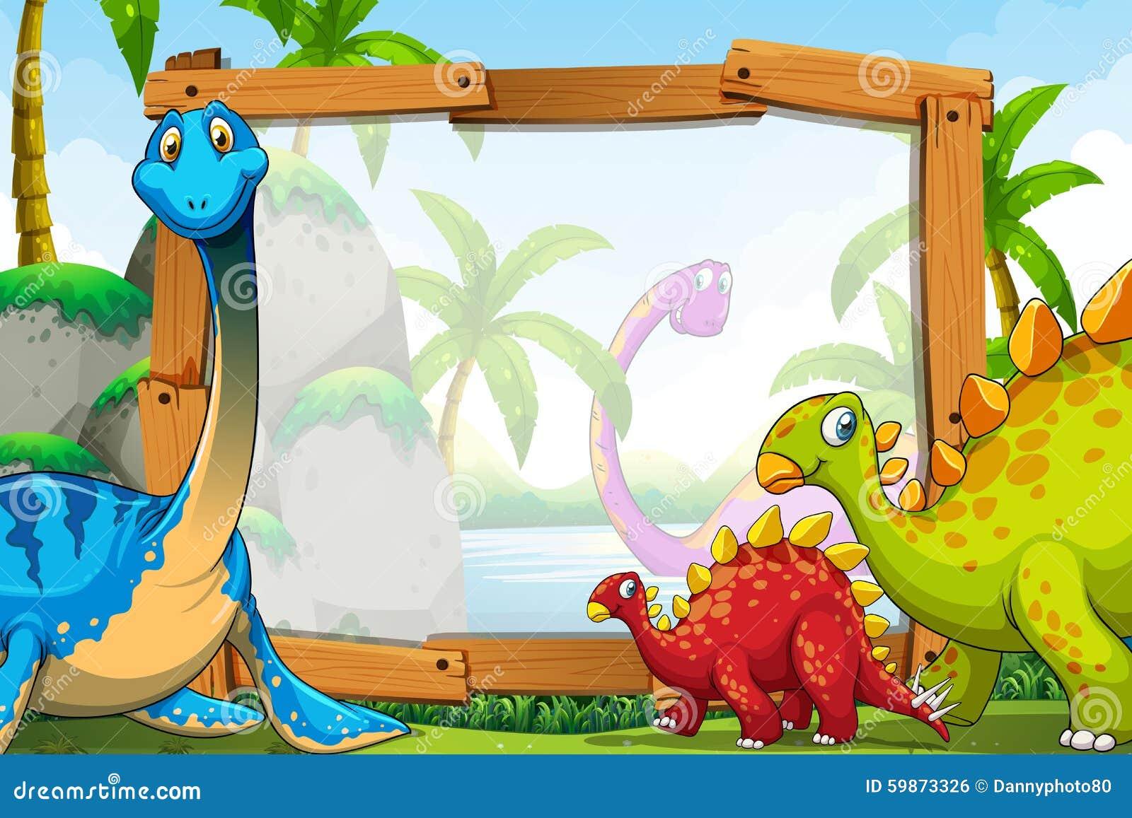 Bonito Marcos De Cuadros Dinosaurio Modelo - Ideas Personalizadas de ...