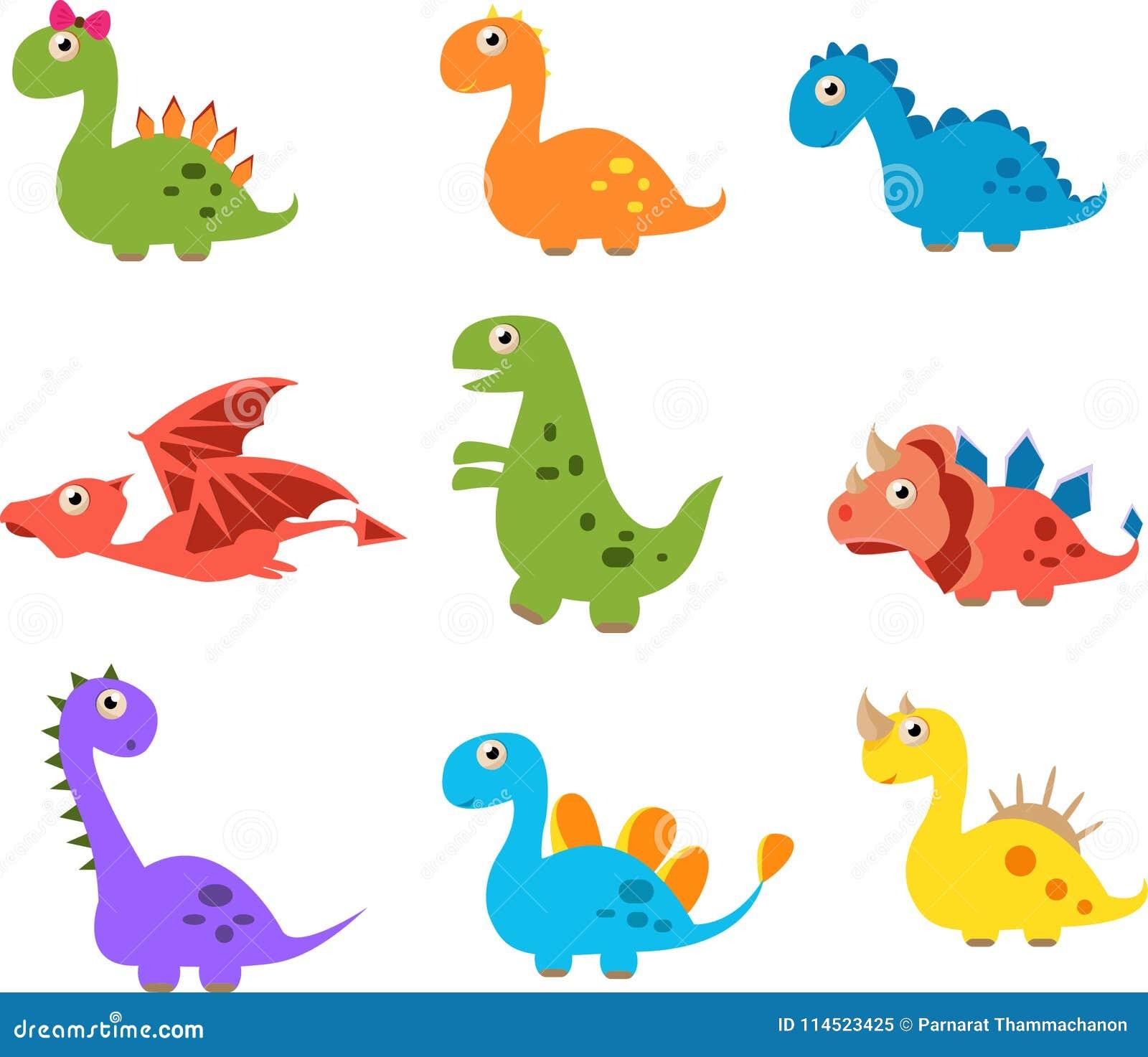 Dinosaurios Lindos Aislados En El Fondo Blanco Stock De Ilustracion Ilustracion De Lindos Blanco 114523425 Puedes unirte a los tiranosaurios aplastar todo en tu camino a la ciudad. https es dreamstime com dinosaurios lindos aislados en el fondo blanco image114523425