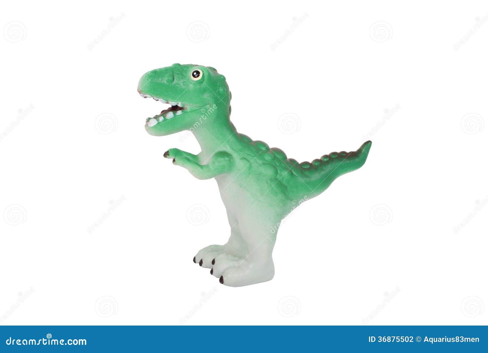 Download Dinosauro del giocattolo fotografia stock. Immagine di interno - 36875502