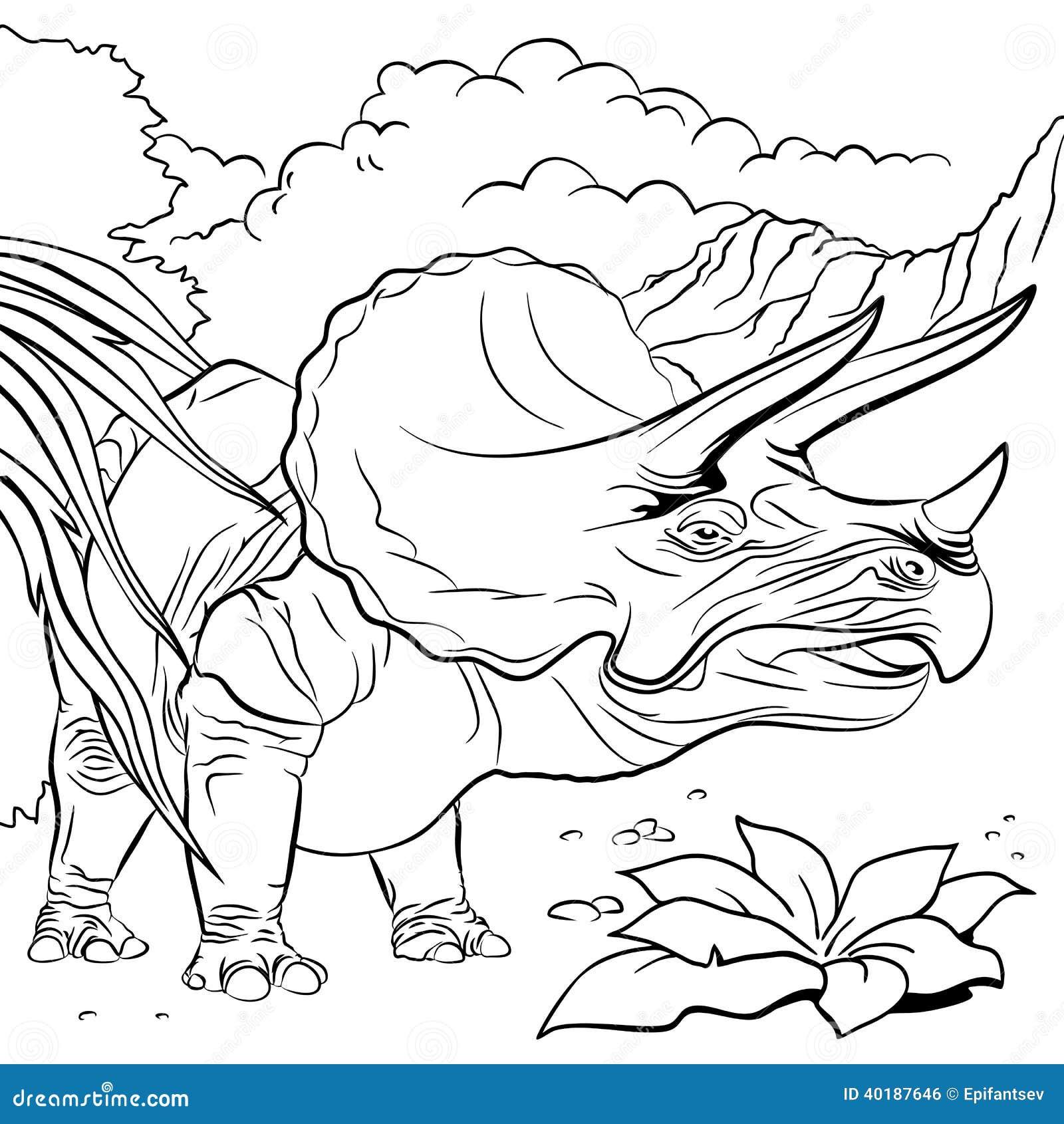 immagini di dinosauri da color are