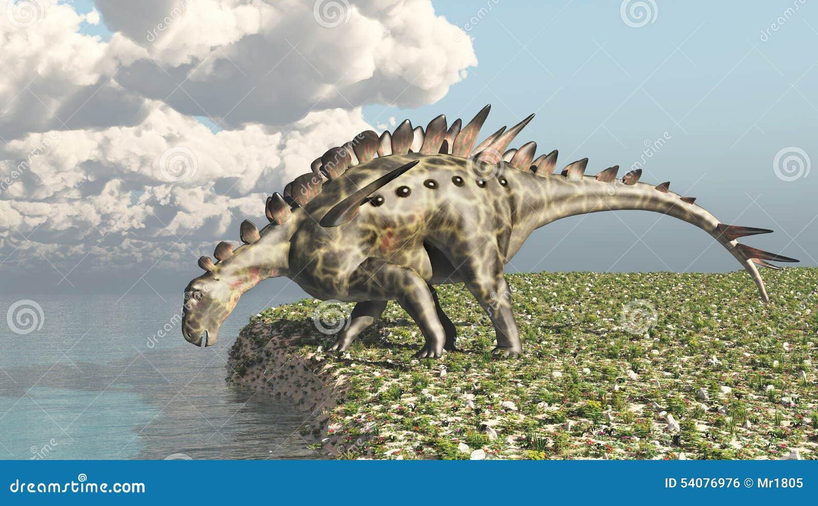 Dinosaurus Huayangosaurus