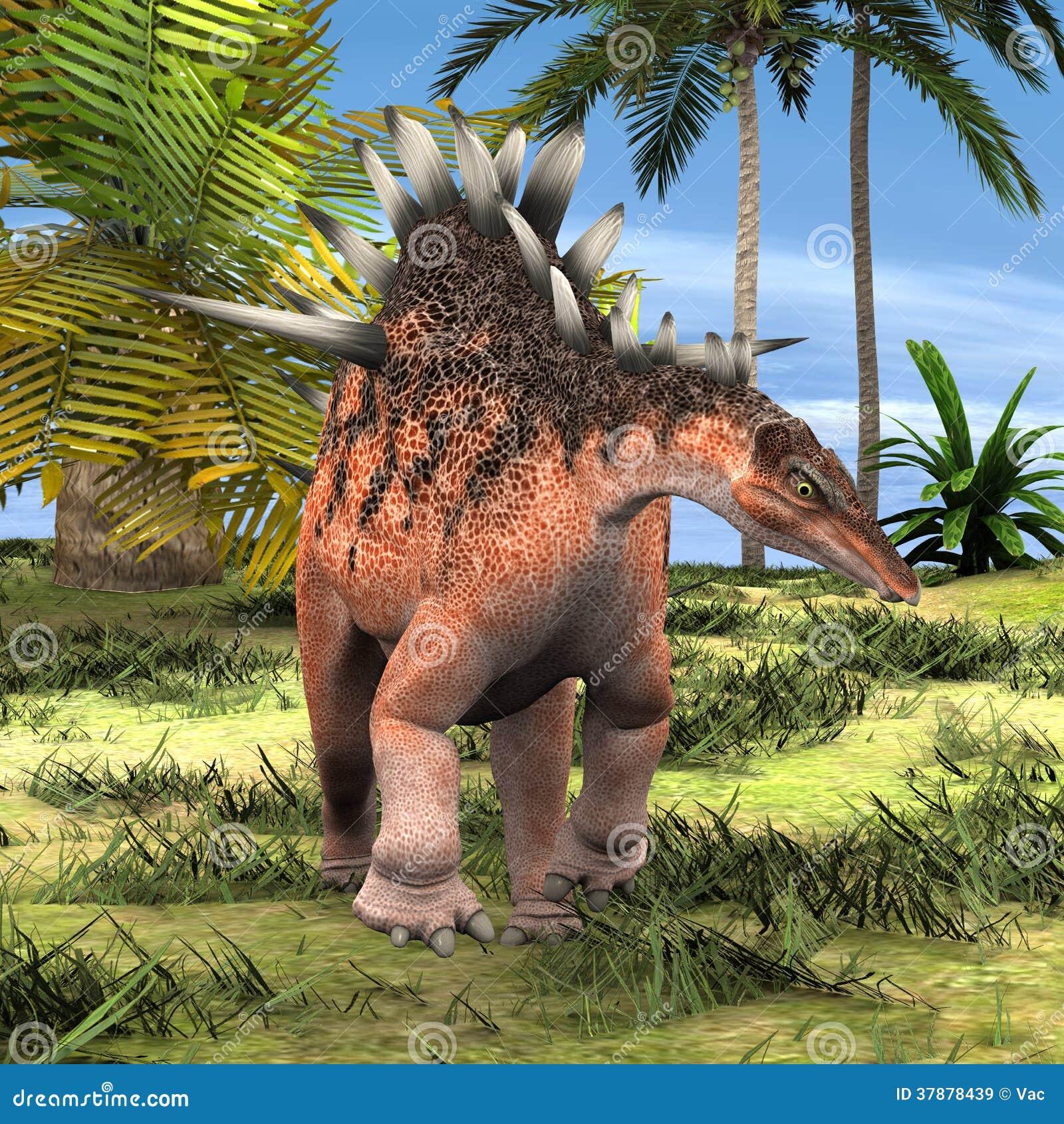 Dinosaurus Kentrosaurus