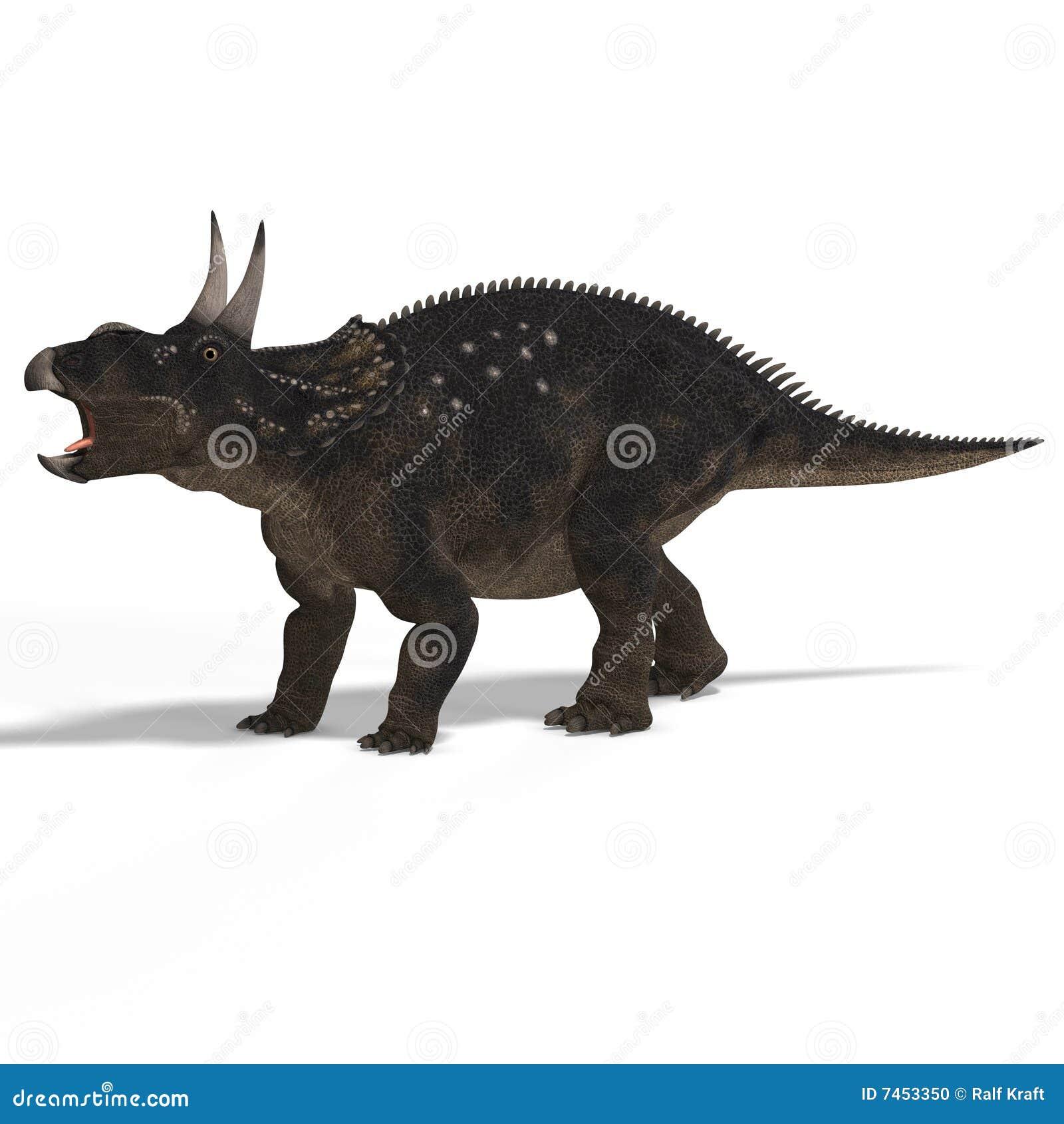 Dinossauro Diceratops