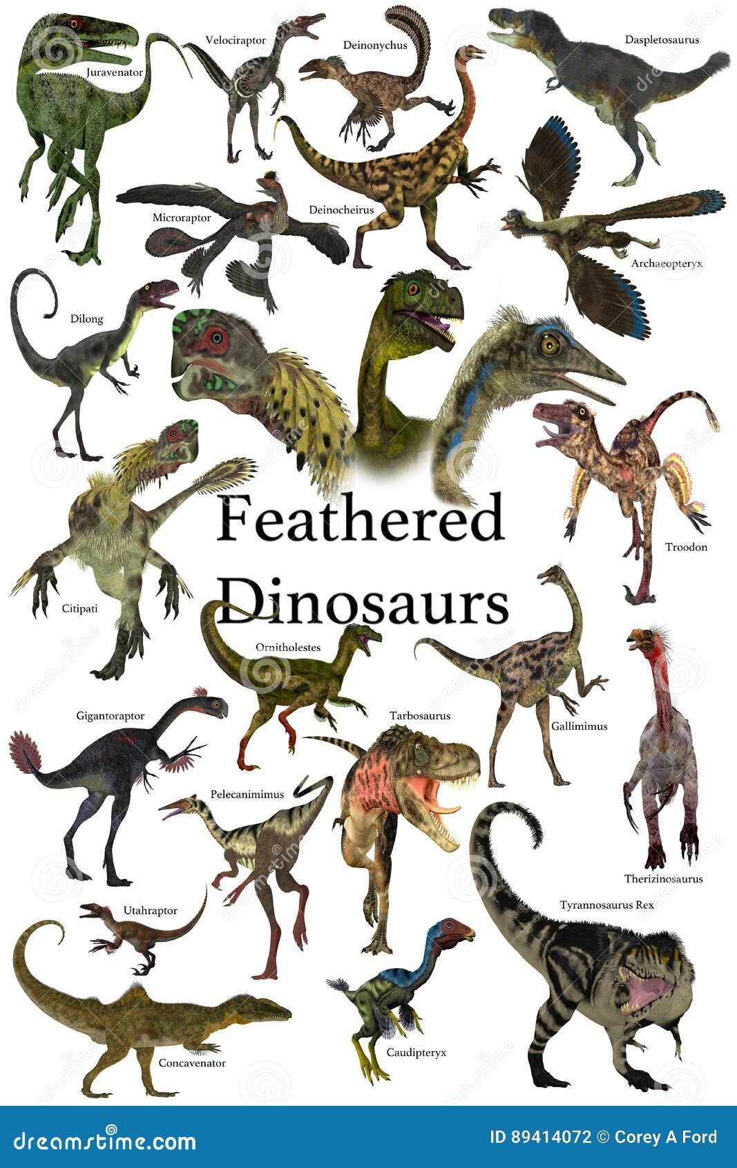 Dinossauros emplumados