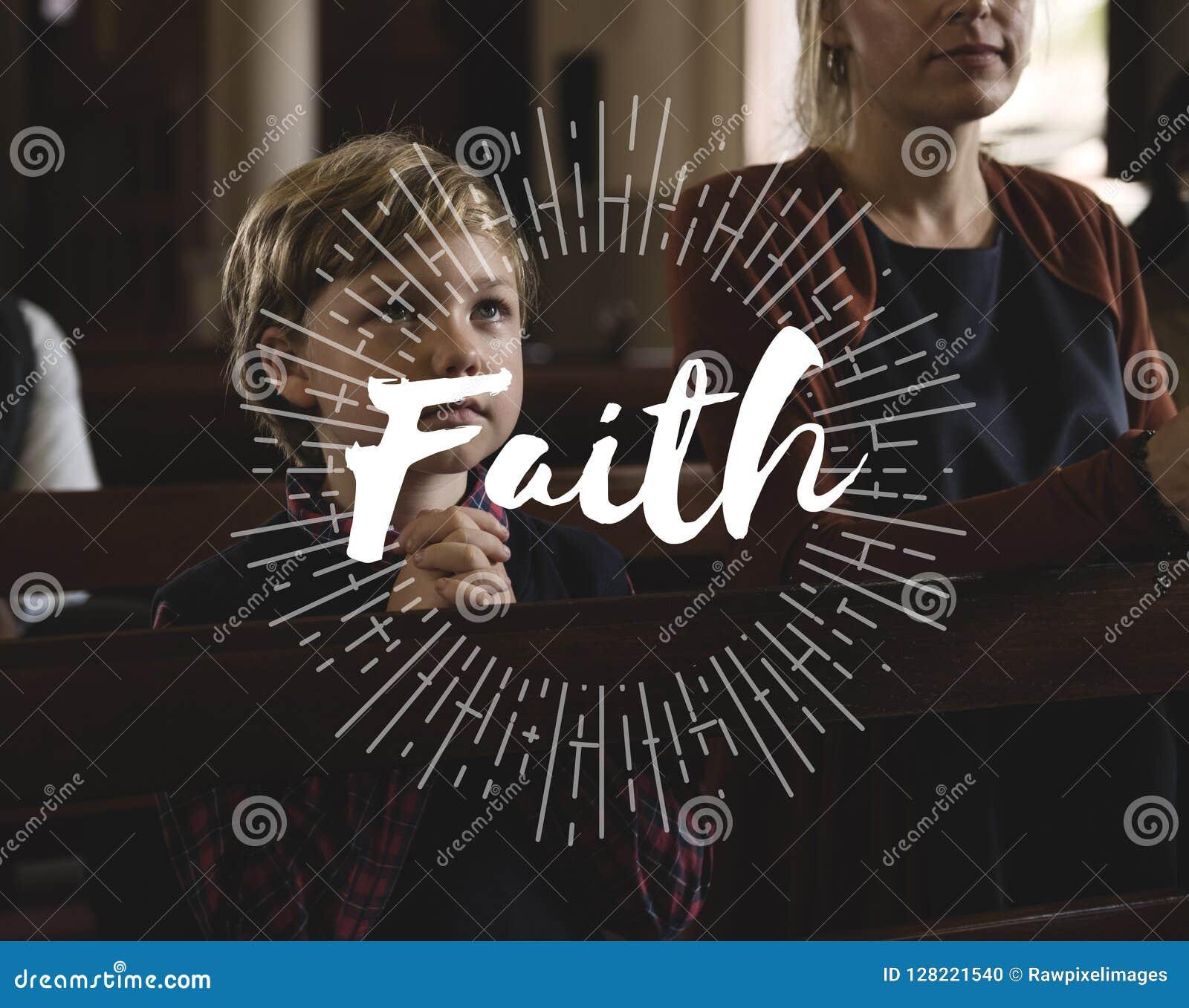 Dios de la adoración cree palabra de la fe de la religión