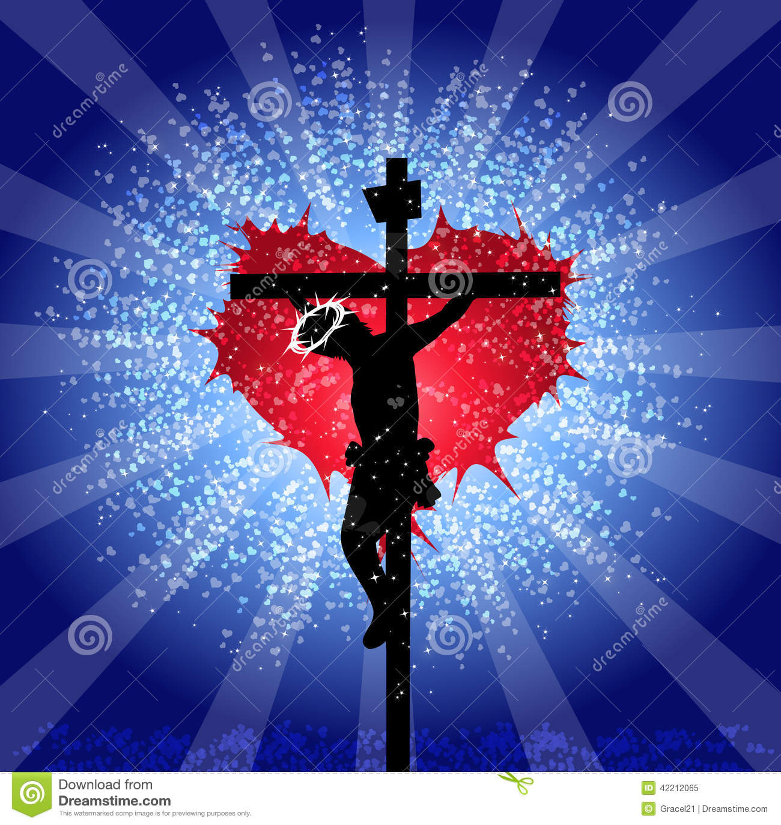 Dios Es Amor Ilustración Del Vector Ilustración De Religioso 42212065