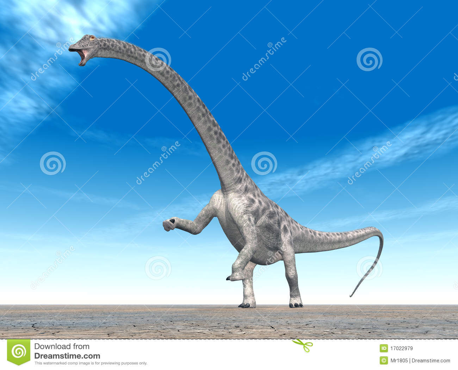 Diplodocus do dinossauro
