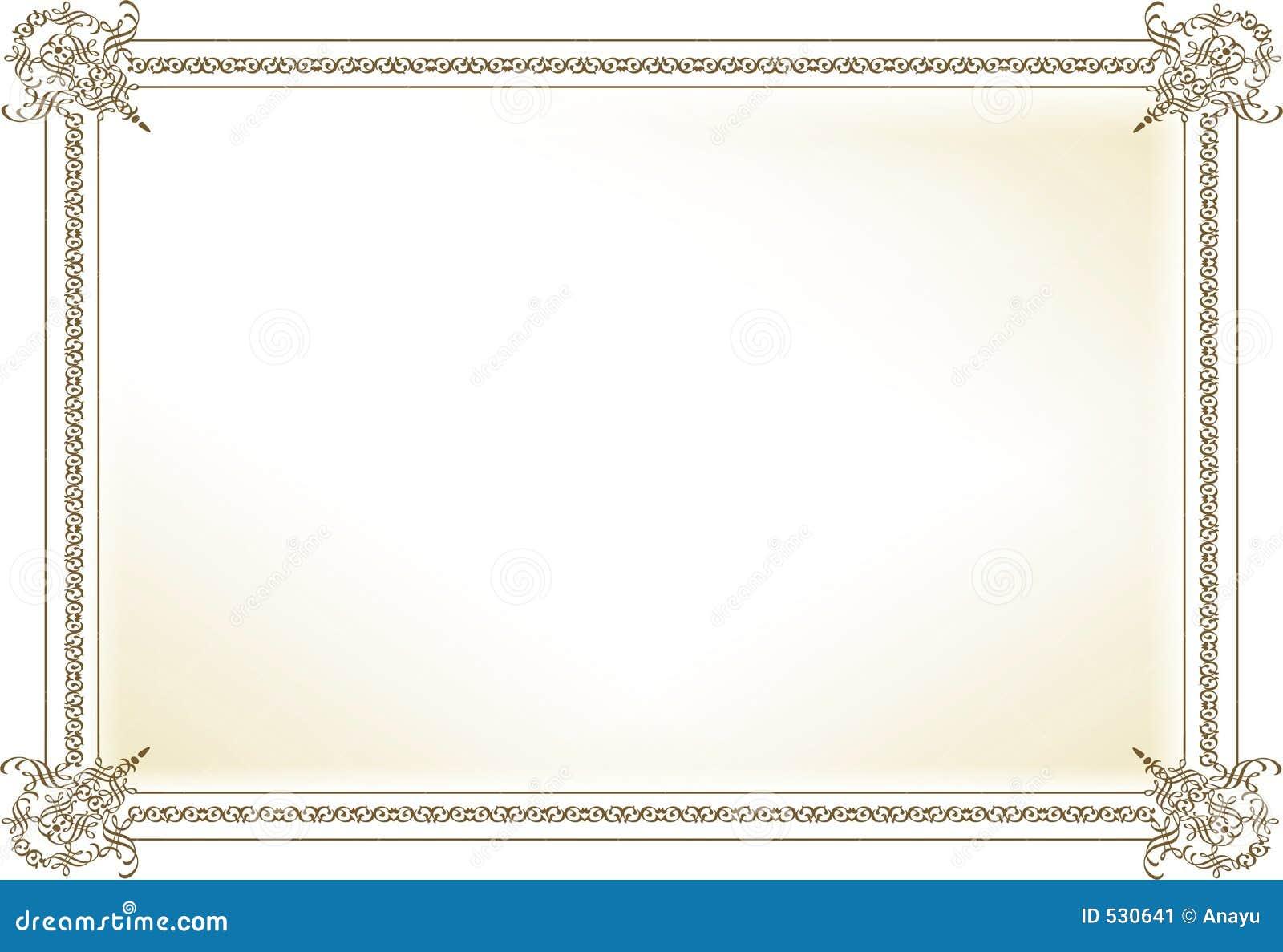 Marcos De Diploma En Blanco 'S