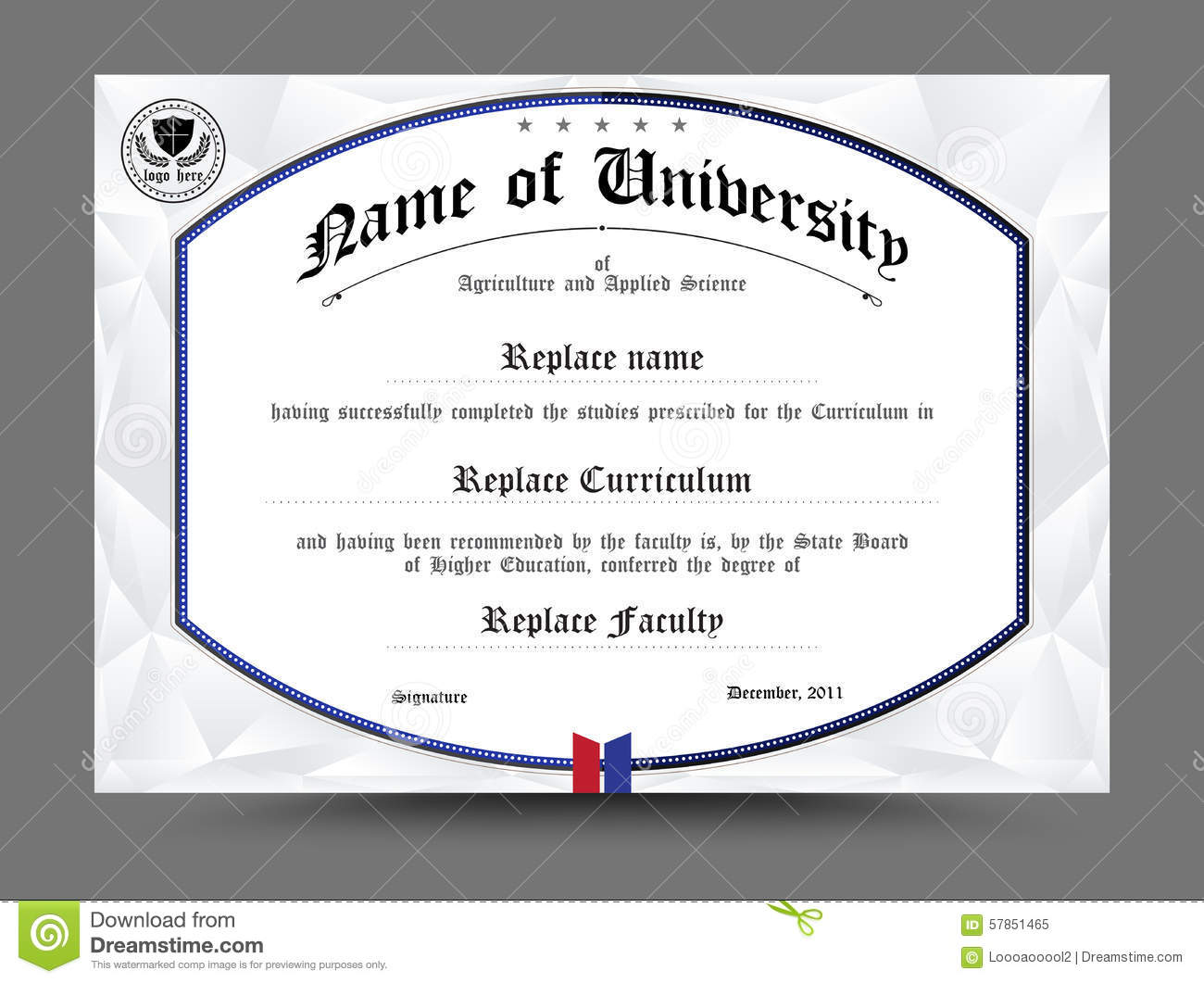 Science certificate template images templates example free download diploma certificate template design vector illustration stock diploma certificate template design vector illustration alramifo images yadclub Images