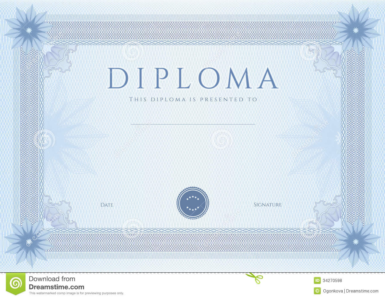 Certificate Of Completion Of Training Template