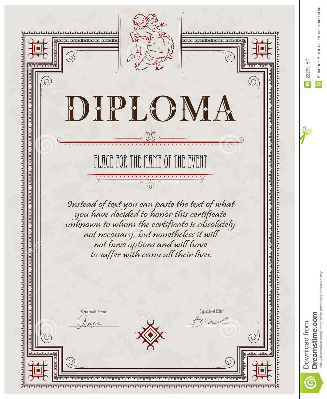 Ged certificate template download the best collection of diploma ged certificate template virtren com alramifo Images