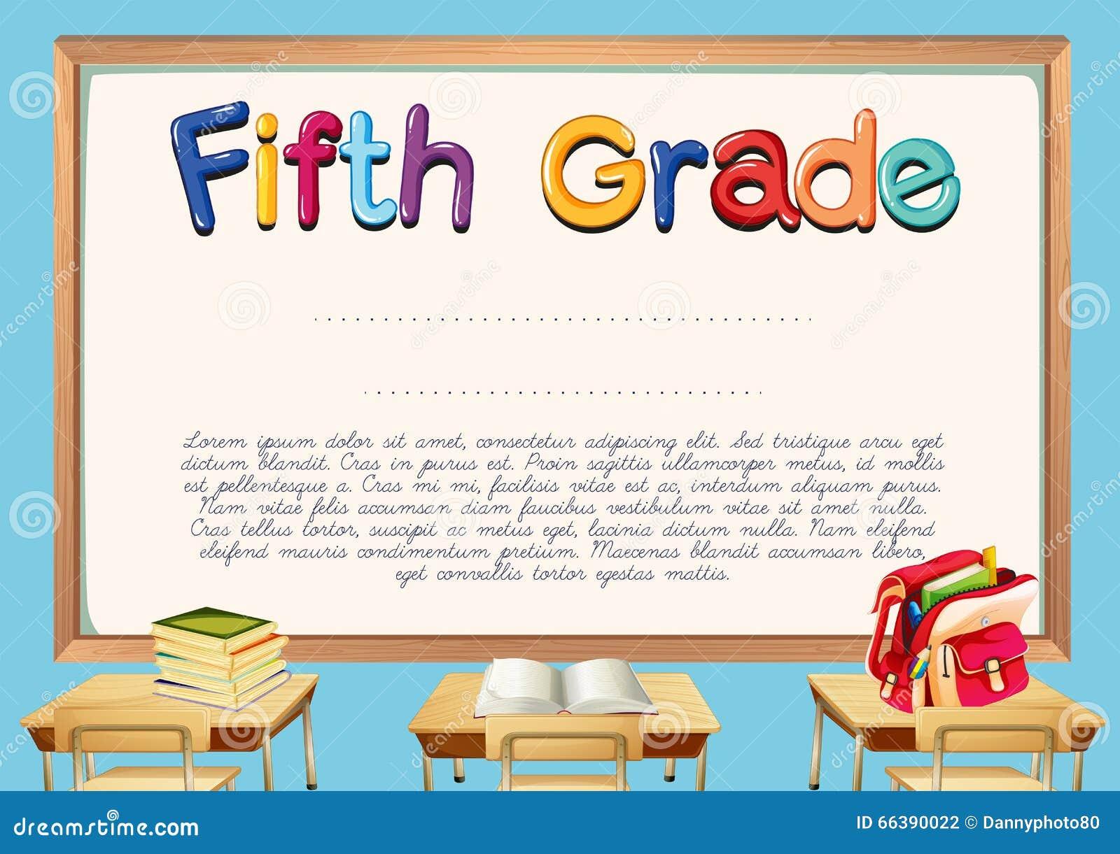 5th grade graduation certificate template 28 images