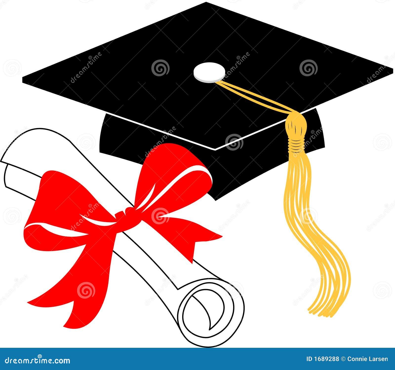 Diploma Y Casquillo EPS De La Graduaci  N