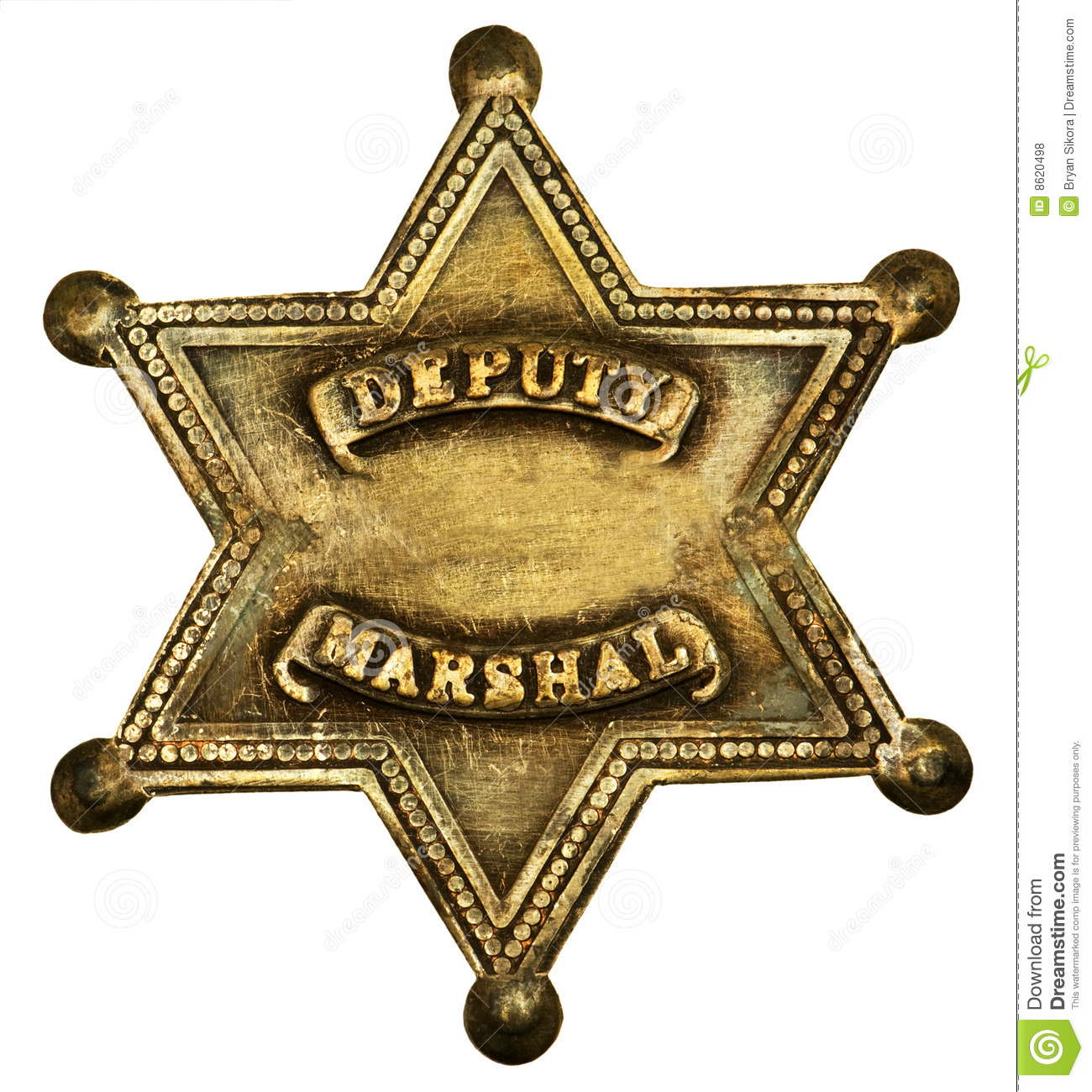 Diputado auténtico Marshall Badge