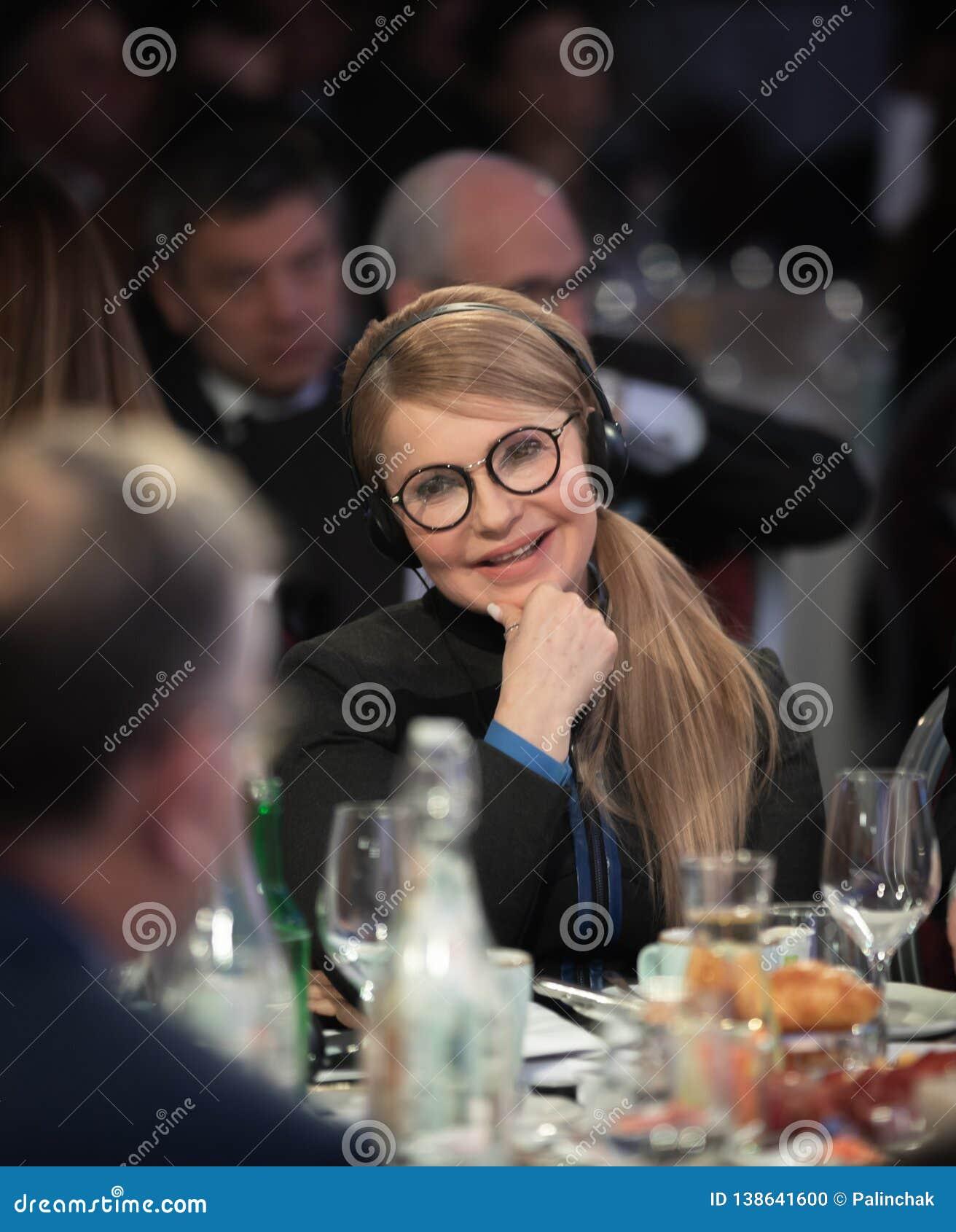 Diputado de la gente de Ucrania Yulia Timoshenko