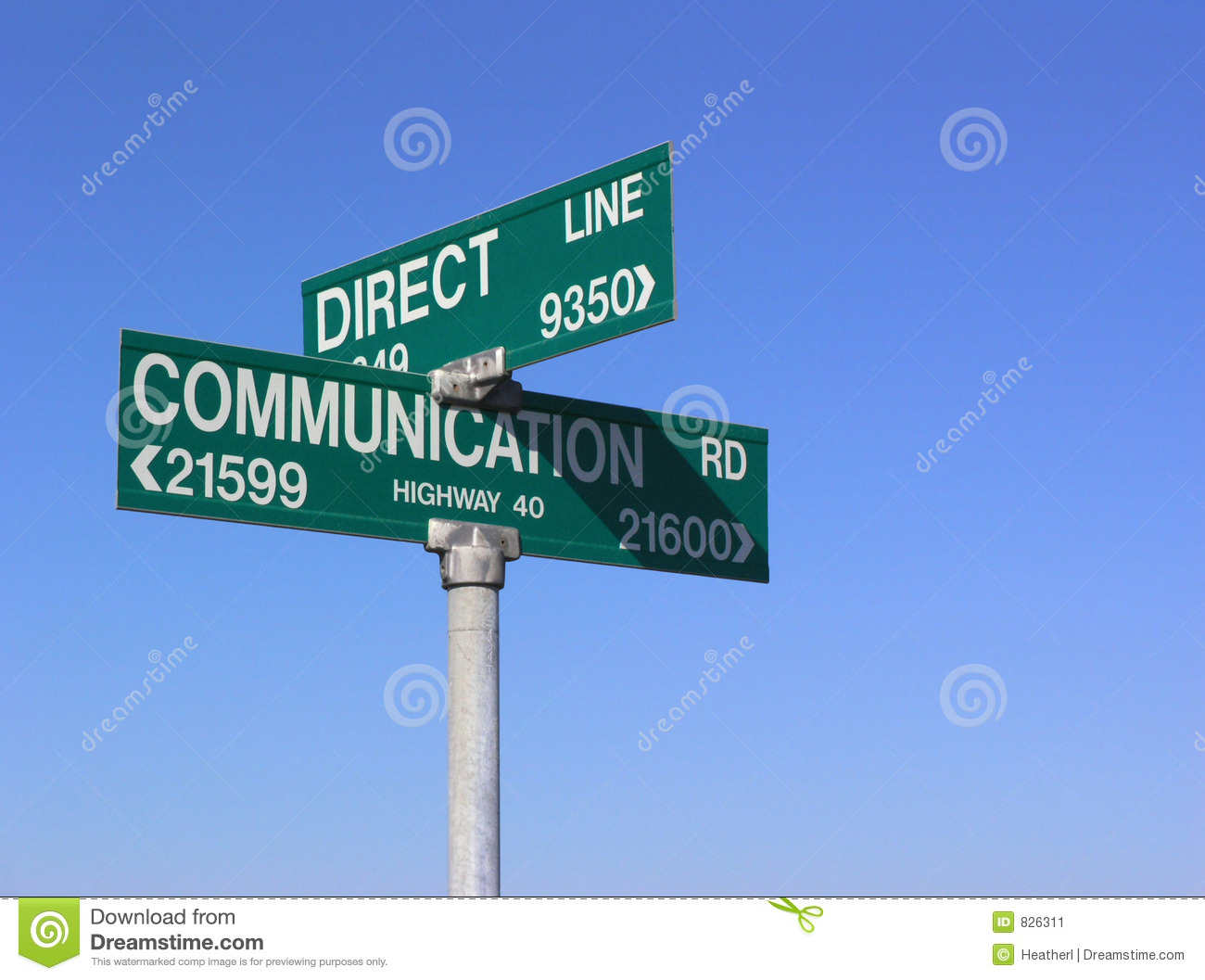 Direct Communication Stock Image Image Of Discuss