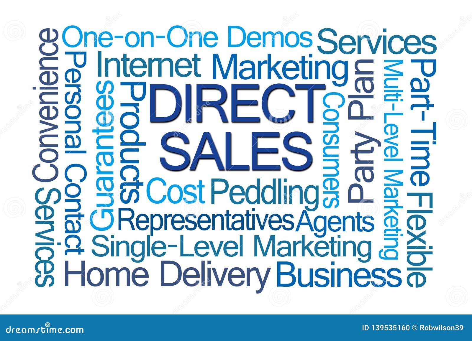 Direct Sales Word Cloud