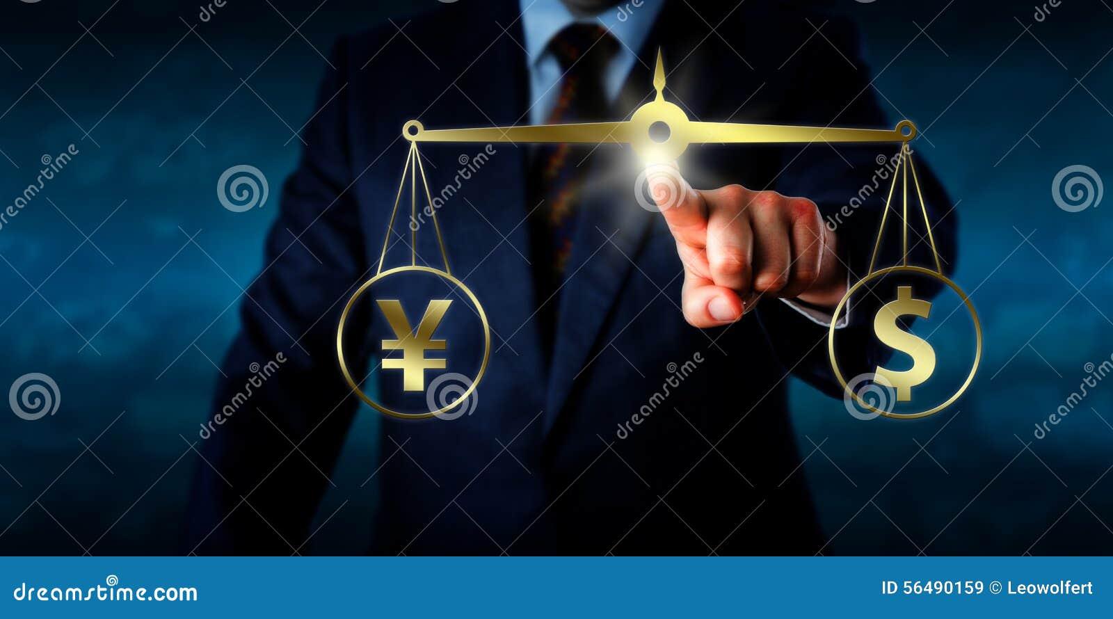 Directeur Equating par dollar au pair avec Yuan Sign
