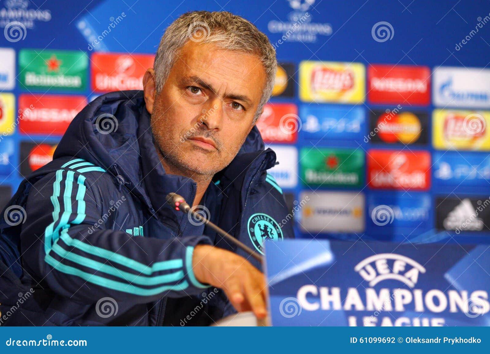 Directeur Jose Mourinho de FC Chelsea