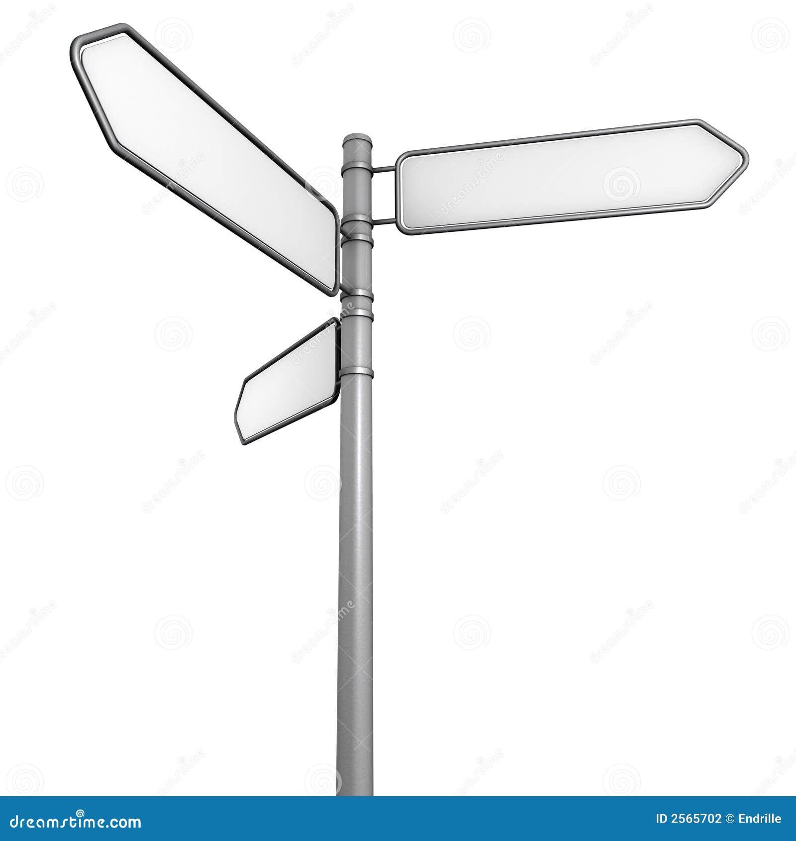 Direction sign B