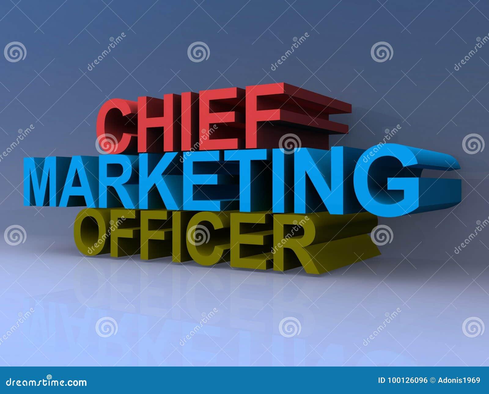 direttore di marketing illustrazione di stock