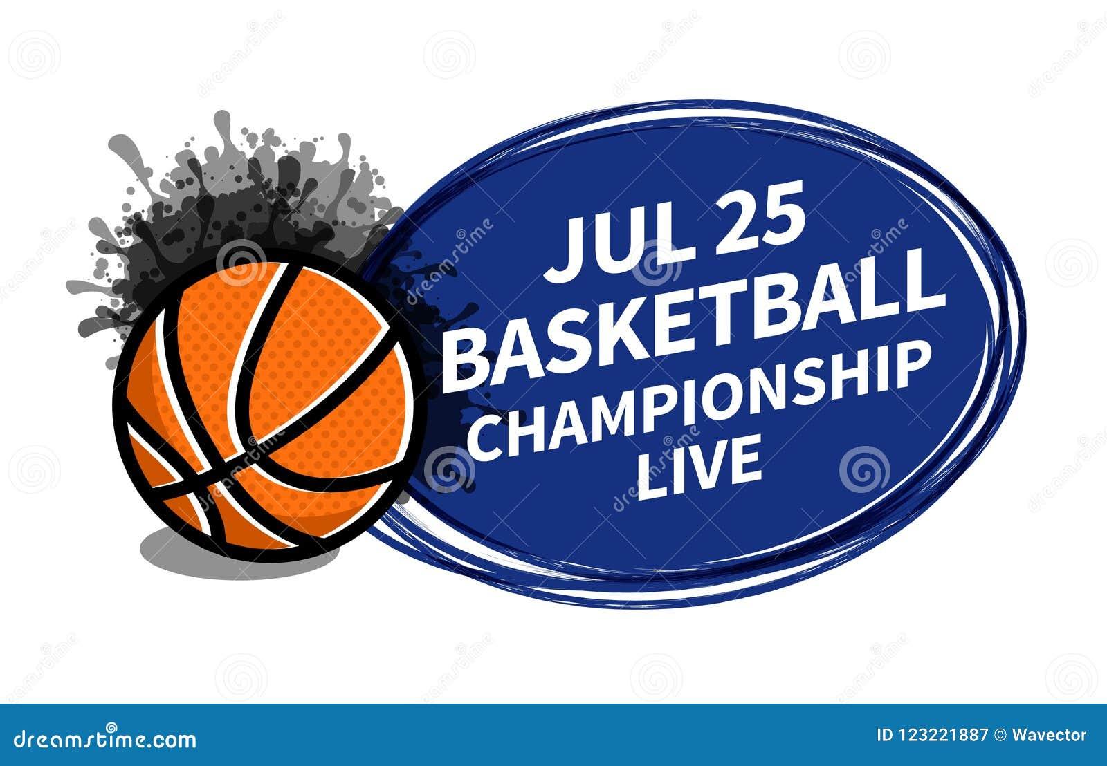 Dirigez l endroit de fond de projecteur de tableau indicateur de sport de basket-ball pour l annonce des textes de copie Bannière