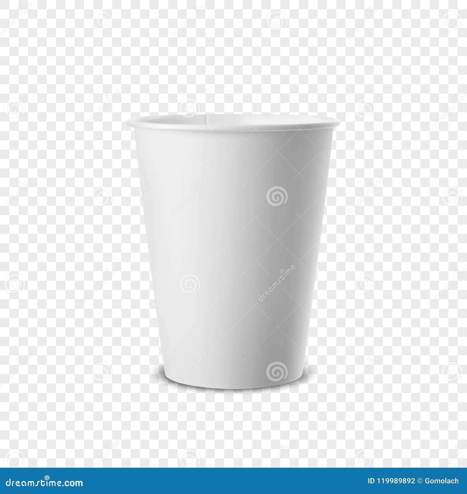 Dirigez L Icone Jetable Realiste De Tasse Du Livre Blanc 3d